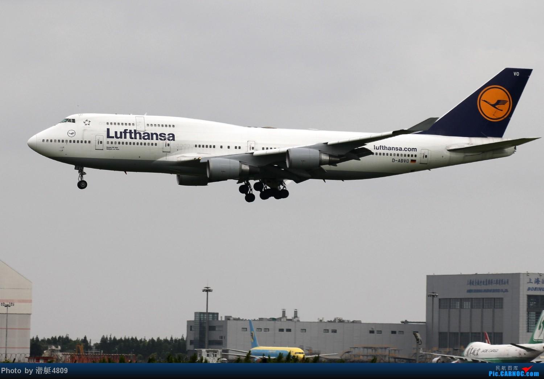 Re:[原创][郑州飞友会]魔都周末拍机记 BOEING 747 D-ABVO 中国上海浦东机场