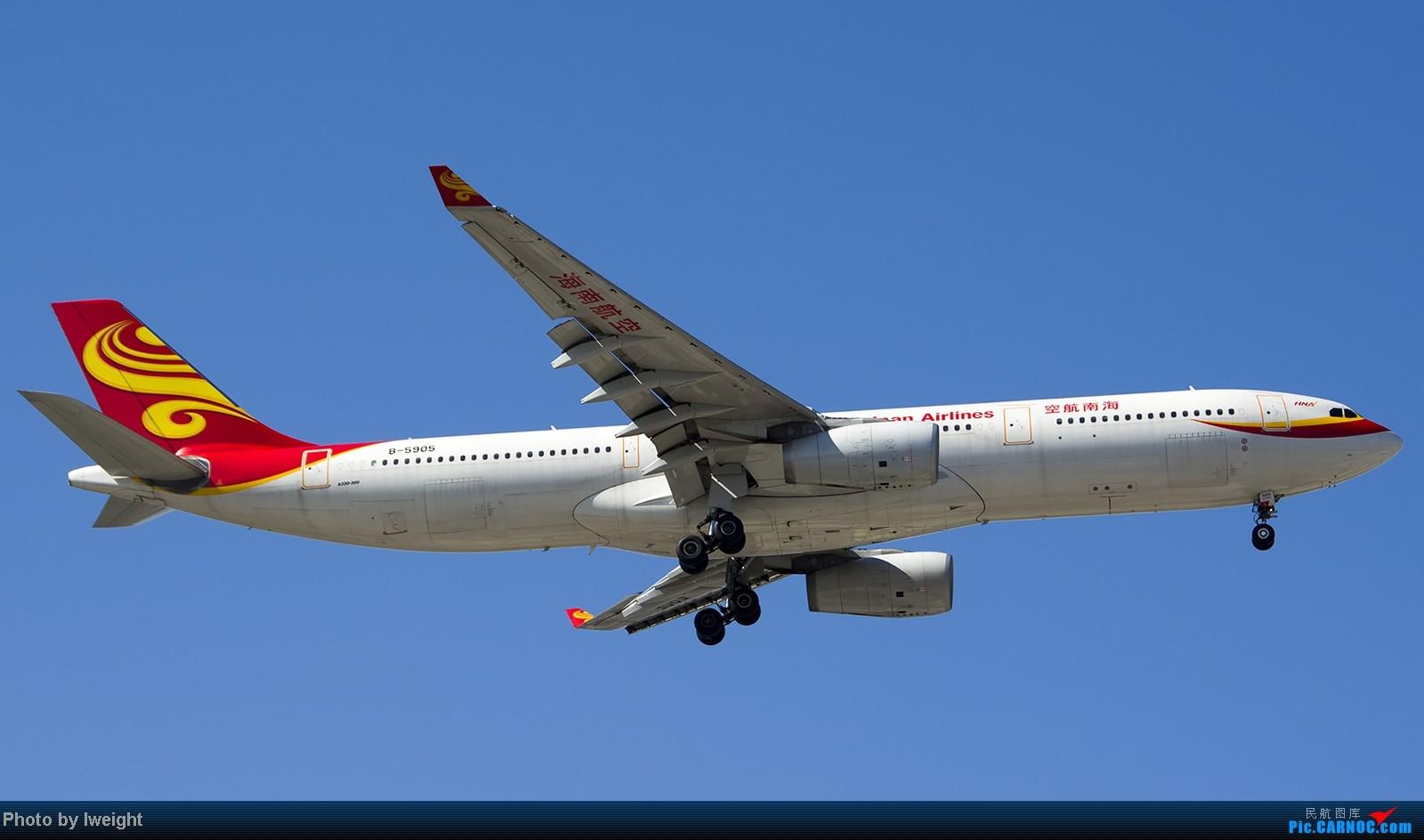 Re:[原创]难得赶上PEK周末好天气,各种常见机型都有收获 AIRBUS A330-300 B-5905 中国北京首都机场