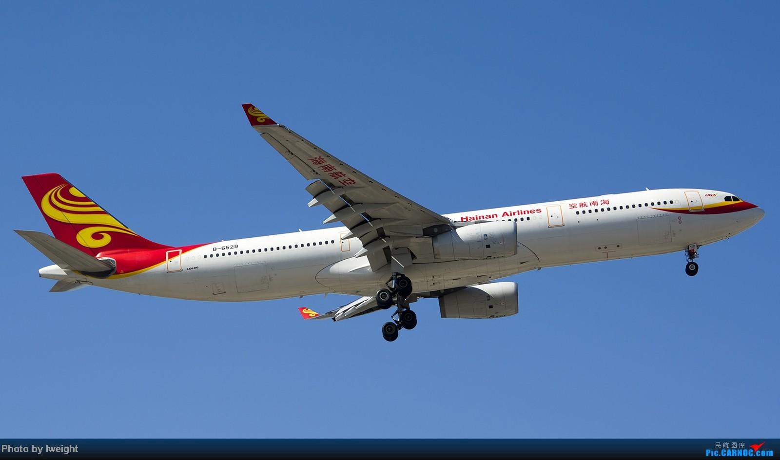 Re:[原创]难得赶上PEK周末好天气,各种常见机型都有收获 AIRBUS A330-300 B-6529 中国北京首都机场