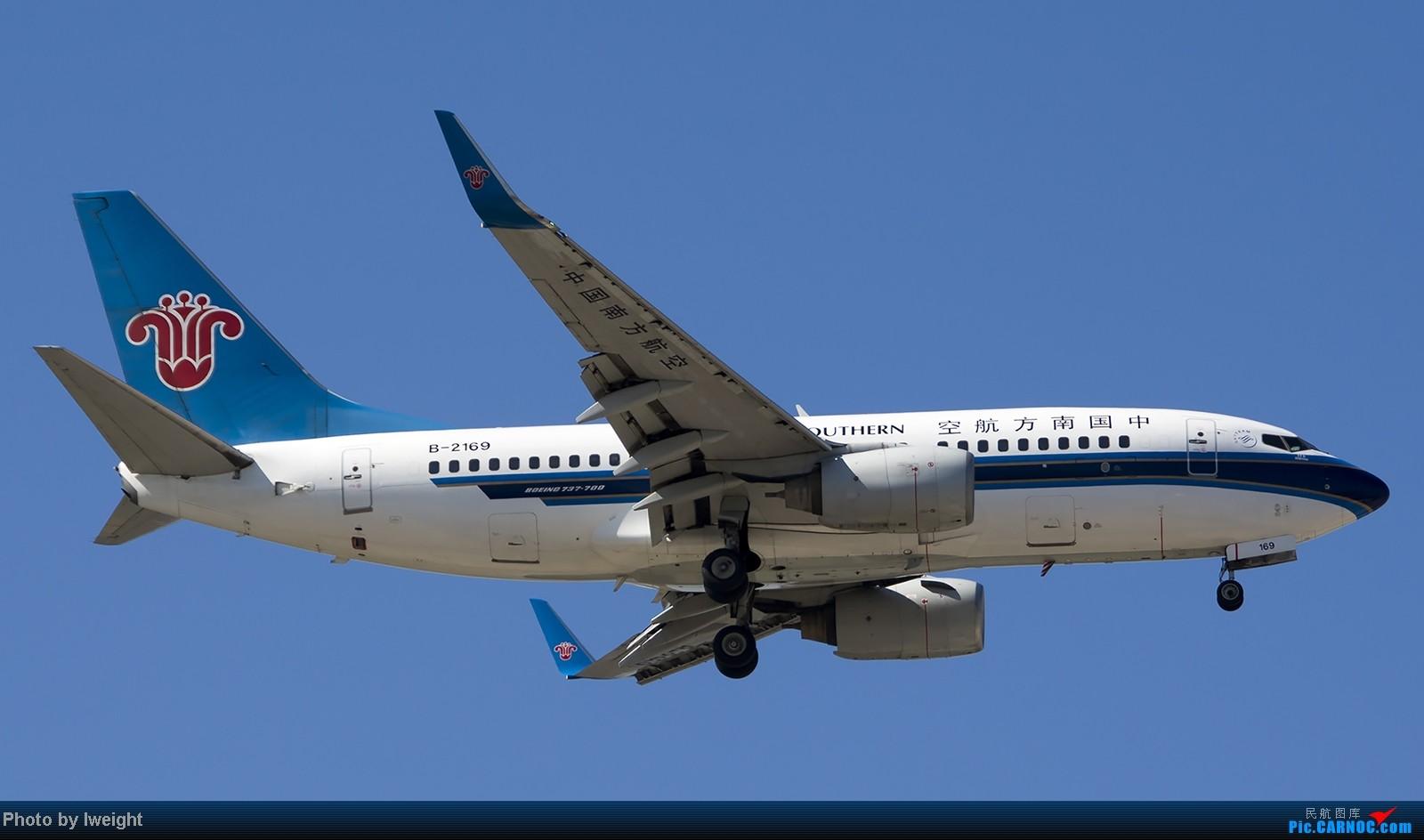 Re:[原创]难得赶上PEK周末好天气,各种常见机型都有收获 BOEING 737-700 B-2169 中国北京首都机场