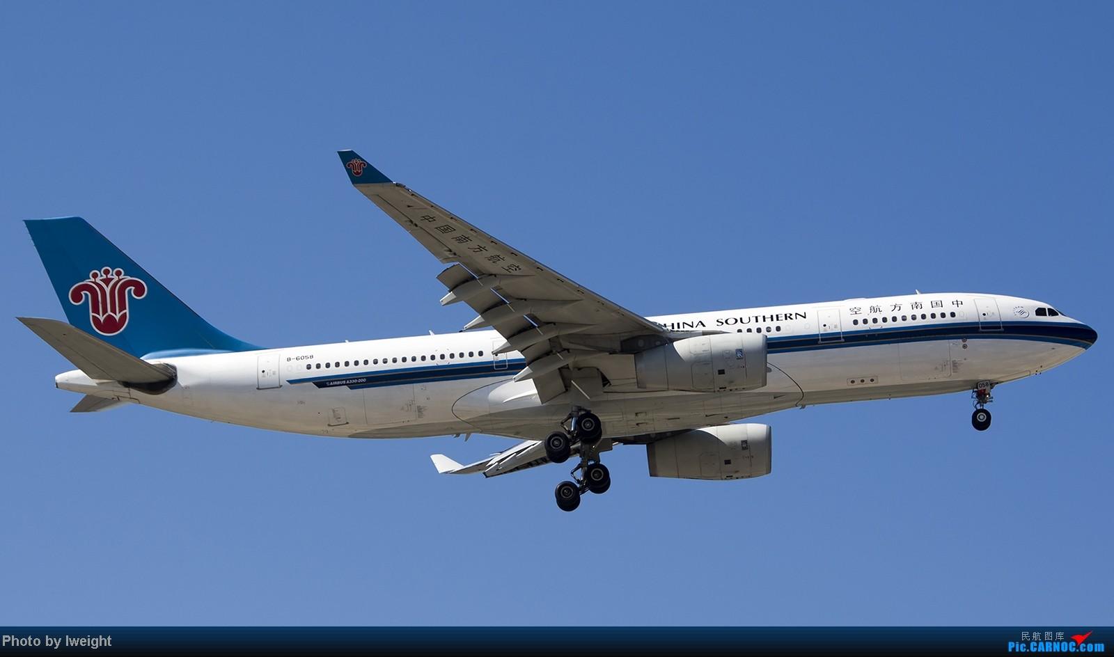 Re:[原创]难得赶上PEK周末好天气,各种常见机型都有收获 AIRBUS A330-200 B-6058 中国北京首都机场