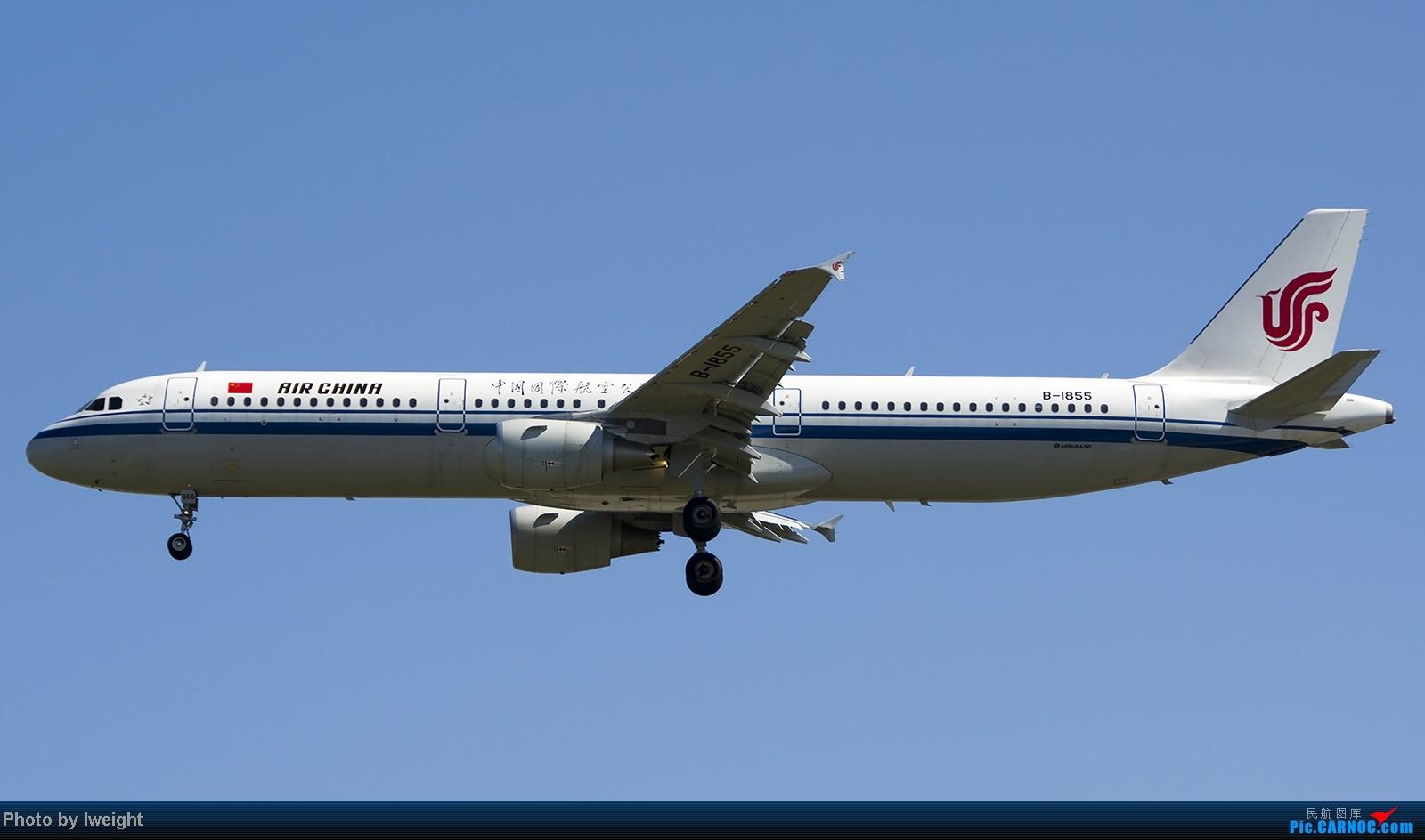 Re:[原创]难得赶上PEK周末好天气,各种常见机型都有收获 AIRBUS A321-200 B-1855 中国北京首都机场