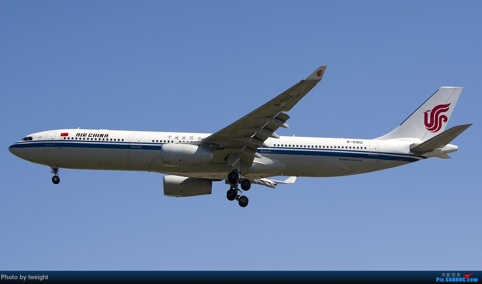 Re:[原创]难得赶上PEK周末好天气,各种常见机型都有收获 AIRBUS A330-300 B-5912 中国北京首都机场