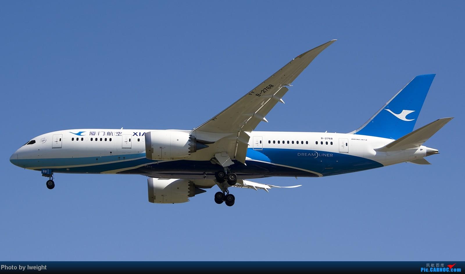 Re:[原创]难得赶上PEK周末好天气,各种常见机型都有收获 BOEING 787-8 B-2768 中国北京首都机场