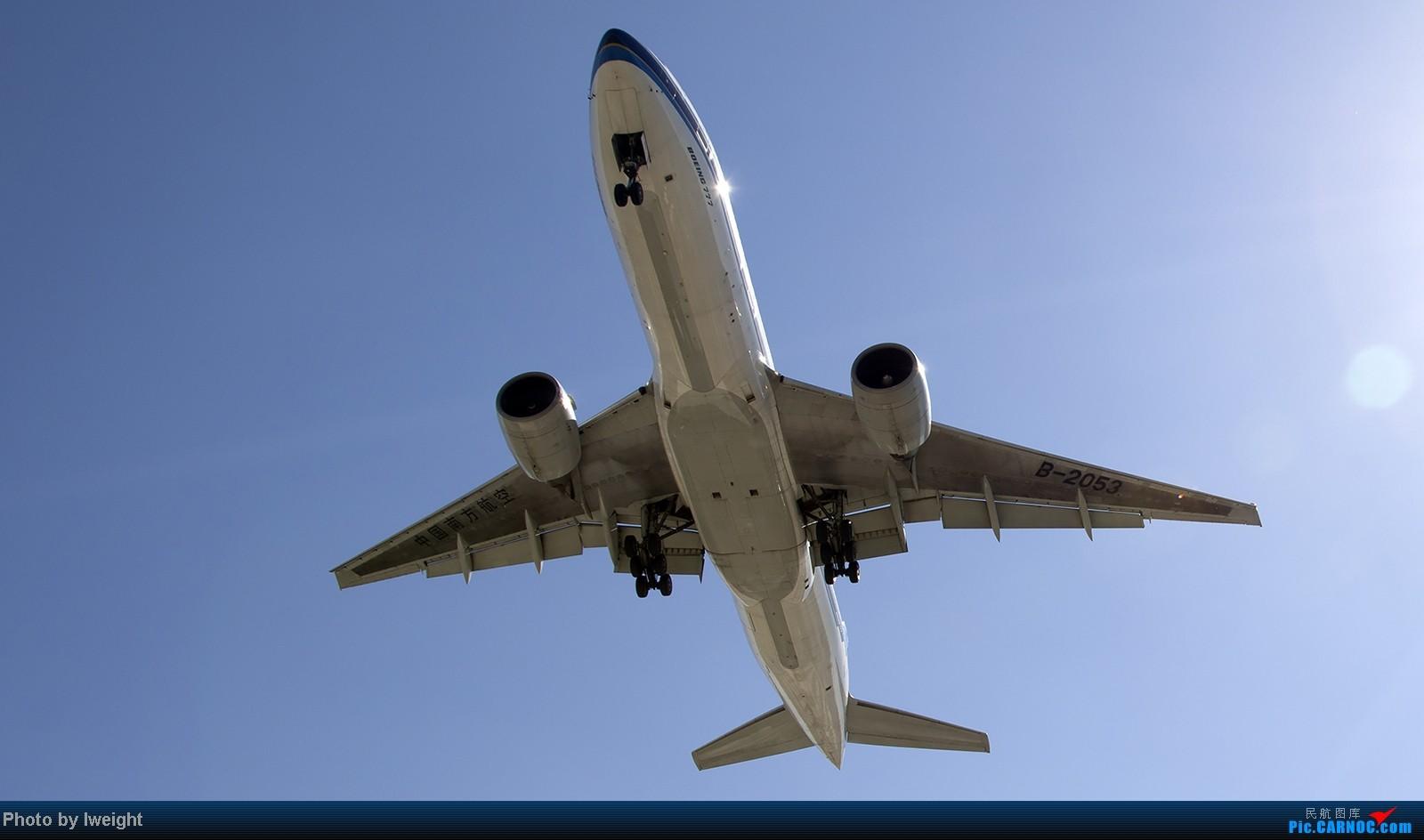 Re:[原创]难得赶上PEK周末好天气,各种常见机型都有收获 BOEING 777-200 B-2053 中国北京首都机场