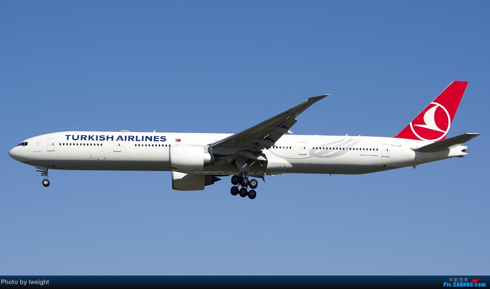 Re:[原创]难得赶上PEK周末好天气,各种常见机型都有收获 BOEING 777-300ER TC-JJF 中国北京首都机场