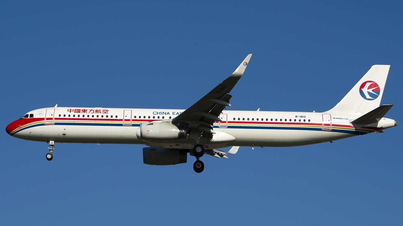 Re:[原创]难得赶上PEK周末好天气,各种常见机型都有收获 AIRBUS A321-200 B-1812 中国北京首都机场