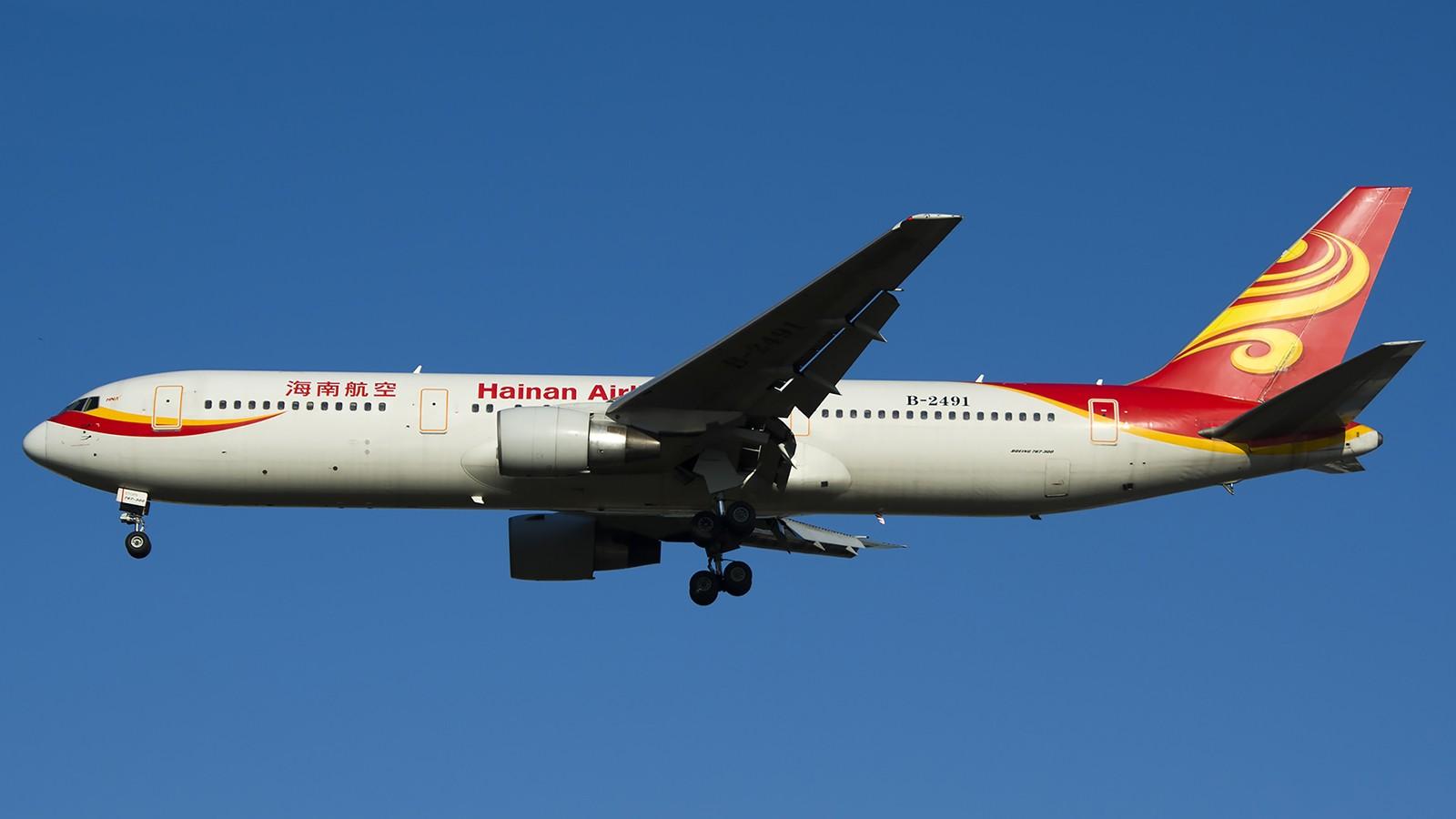 Re:[原创]难得赶上PEK周末好天气,各种常见机型都有收获 BOEING 767-300 B-2491 中国北京首都机场