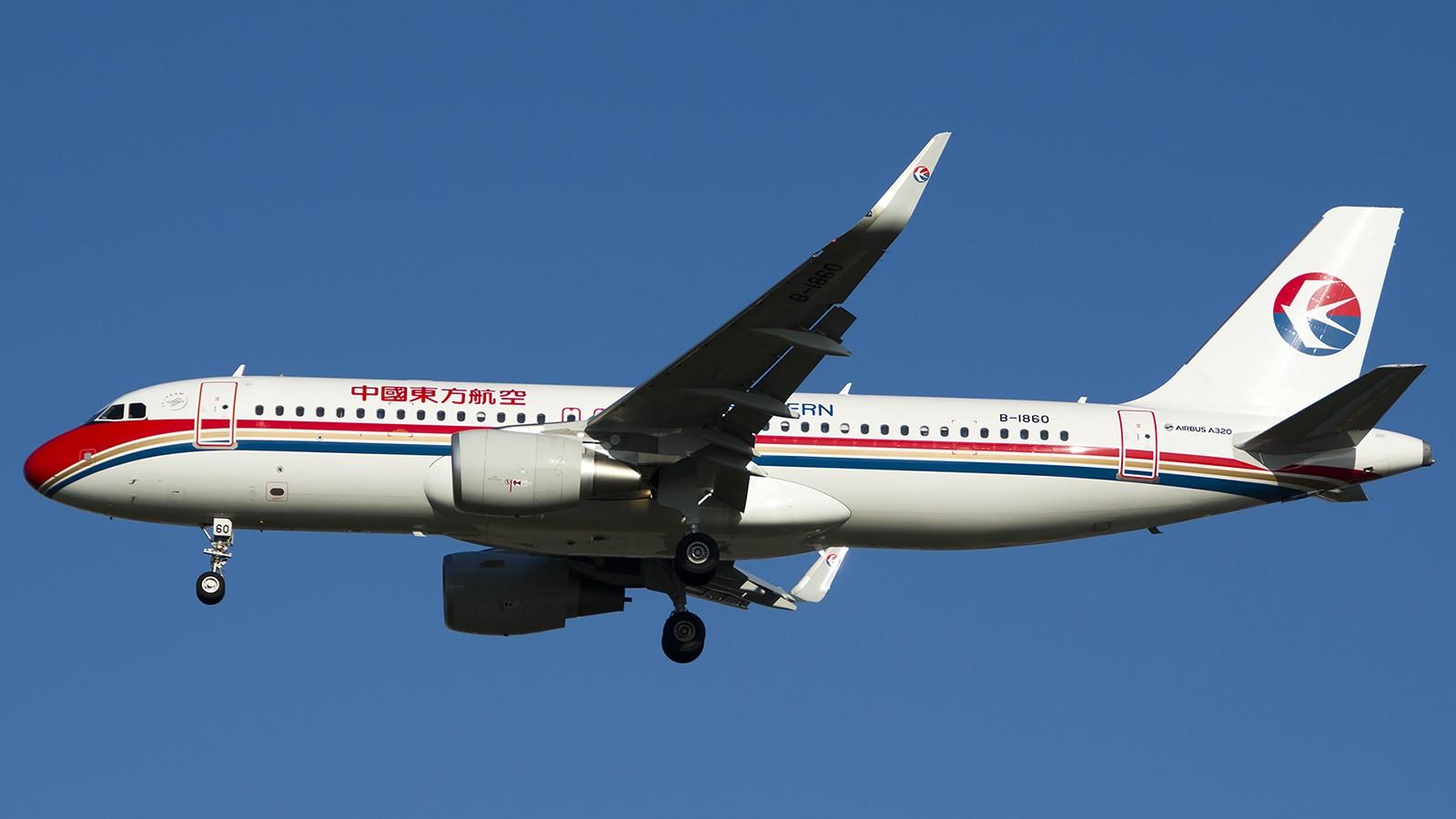 Re:[原创]难得赶上PEK周末好天气,各种常见机型都有收获 AIRBUS A320-200 B-1860 中国北京首都机场