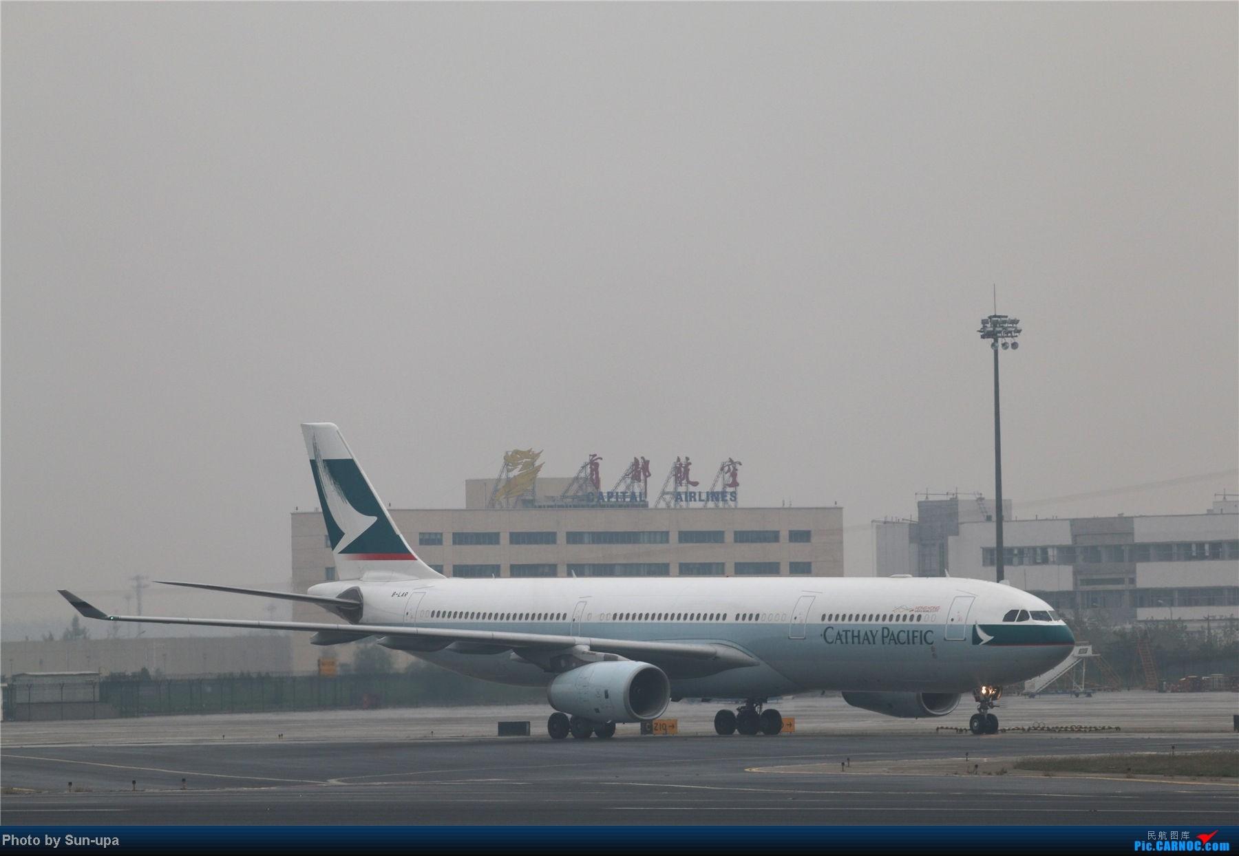Re:[原创]冷雨天冒着雨拍了一下午 终于等到国航747-8 还有很多好货 AIRBUS A330-300 B-LAR 中国北京首都机场