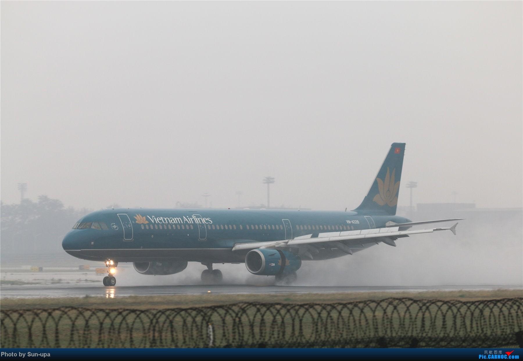 Re:[原创]冷雨天冒着雨拍了一下午 终于等到国航747-8 还有很多好货 AIRBUS A321-200 YN-A339 中国北京首都机场