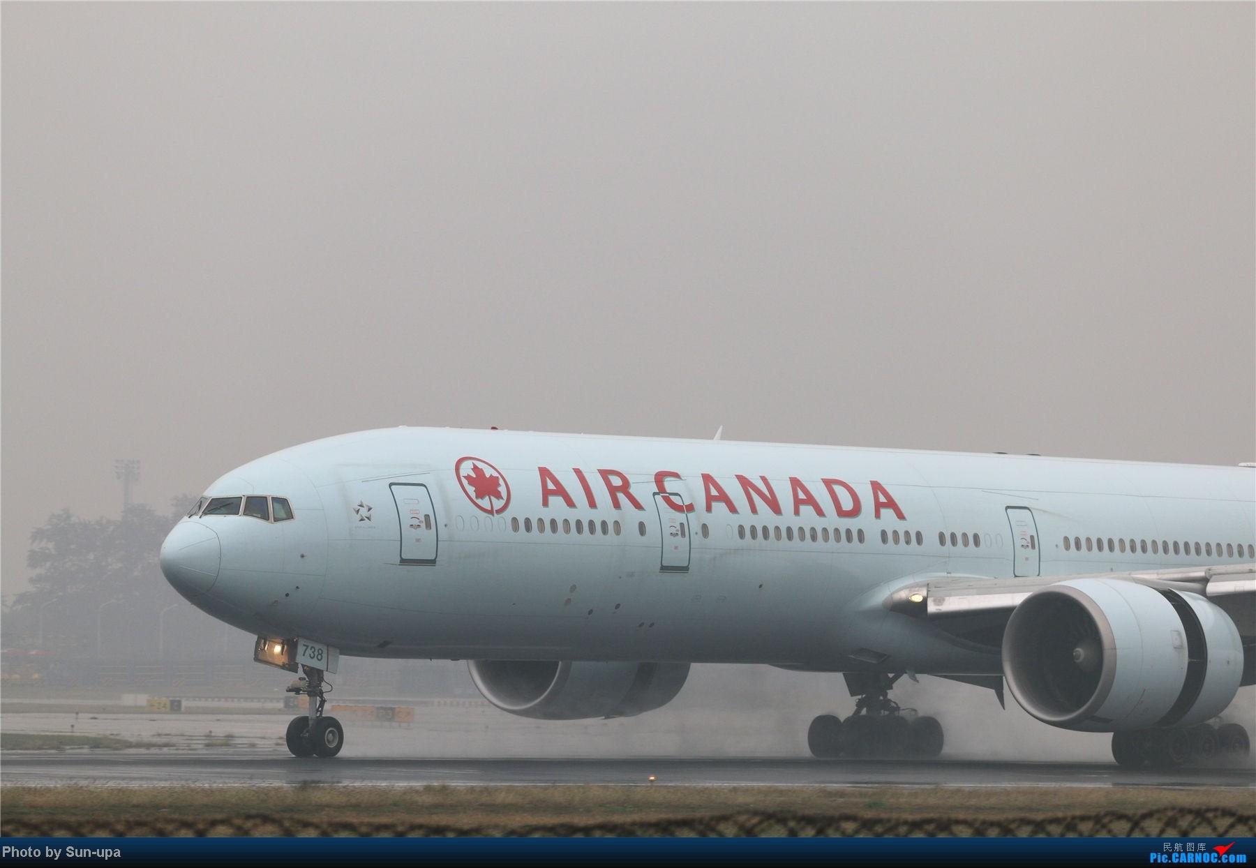 Re:[原创]冷雨天冒着雨拍了一下午 终于等到国航747-8 还有很多好货 BOEING 777-300ER C-FIVM 中国北京首都机场