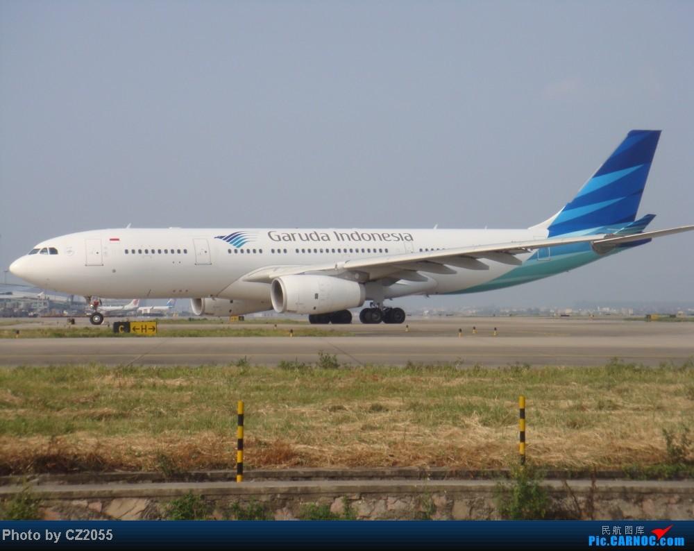 [原创]2014.10.02白云机场02R围栏拍机 AIRBUS A330-200 PK-GPS 中国广州白云机场