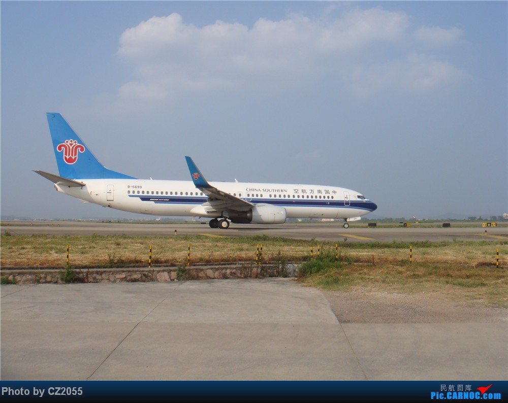 Re:[原创]2104.10.02白云机场02R围栏拍机 BOEING 737-800 B-5699 中国广州白云机场