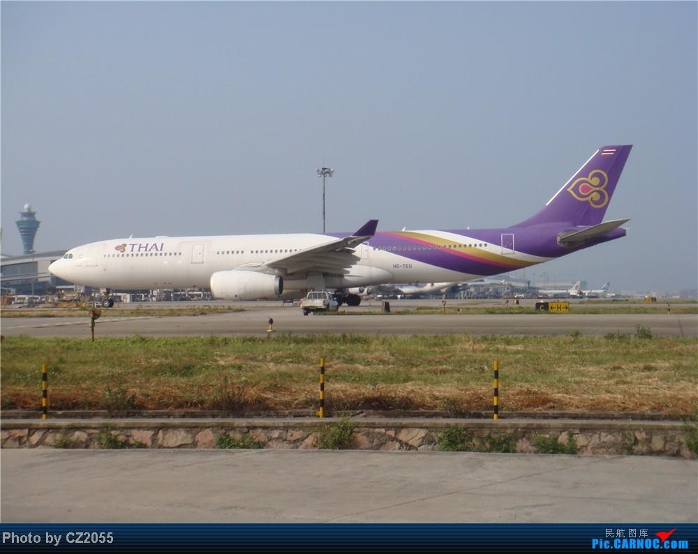 Re:[原创]2104.10.02白云机场02R围栏拍机 AIRBUS A330-300 HS-TEU 中国广州白云机场