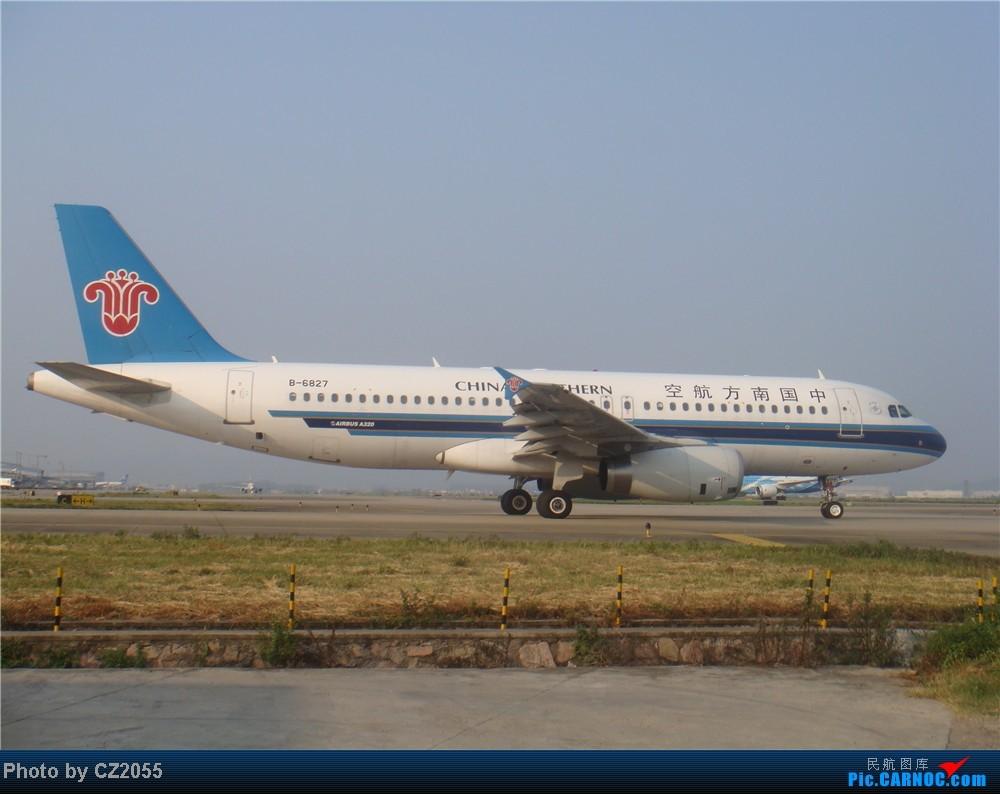 Re:[原创]2104.10.02白云机场02R围栏拍机 AIRBUS A320-200 B-6827 中国广州白云机场