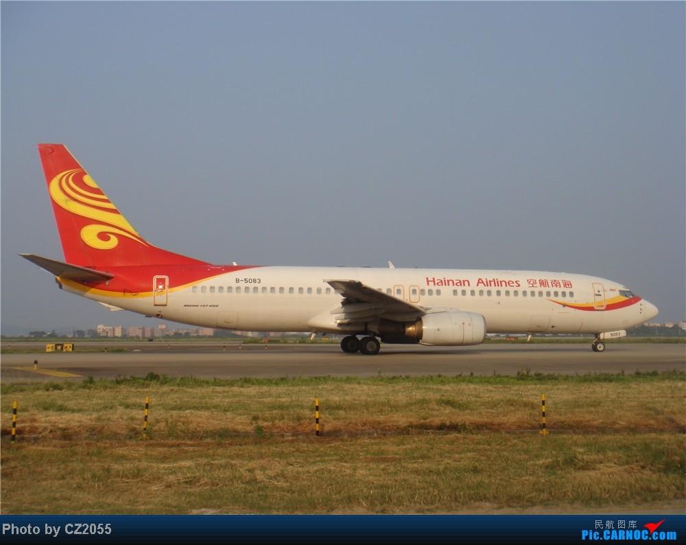 Re:[原创]2104.10.02白云机场02R围栏拍机 BOEING 737-800 B-5083 中国广州白云机场