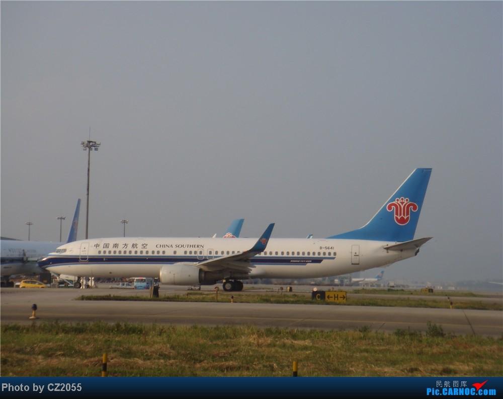 Re:[原创]2104.10.02白云机场02R围栏拍机 BOEING 737-800 B-5641 中国广州白云机场