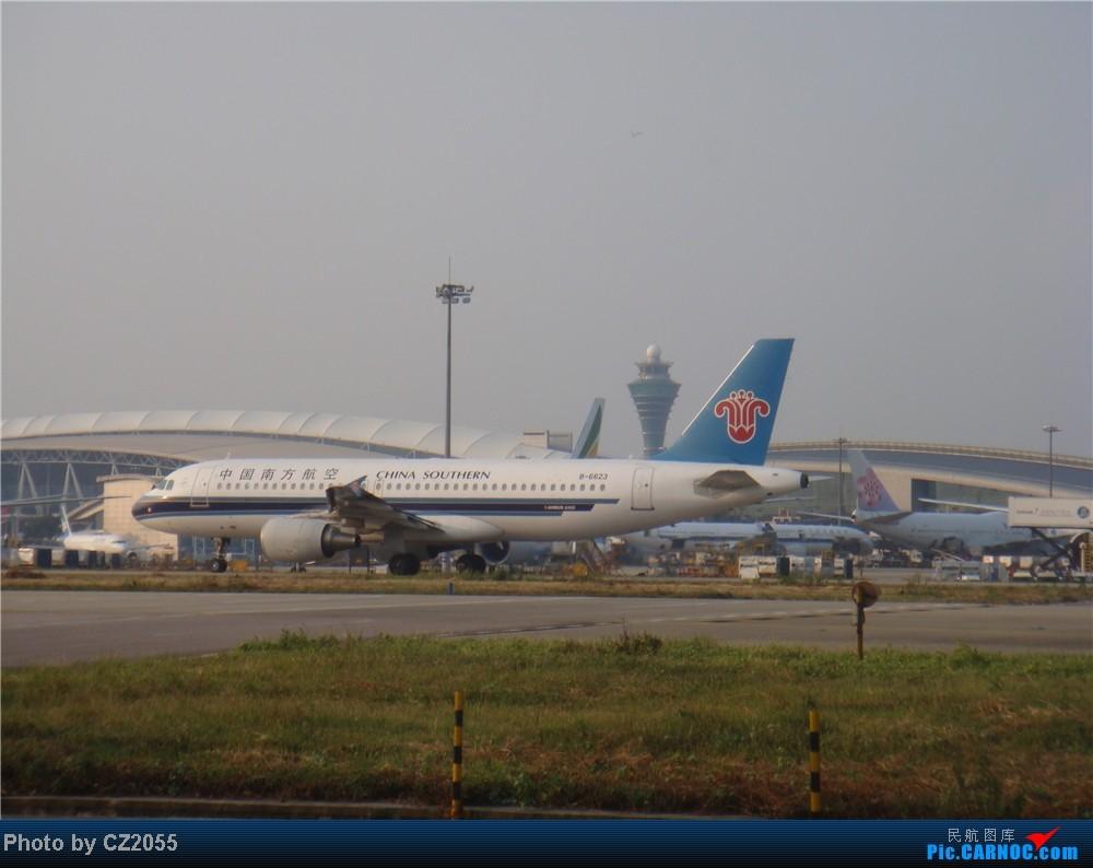 Re:[原创]2104.10.02白云机场02R围栏拍机 AIRBUS A320-200 B-6623 中国广州白云机场