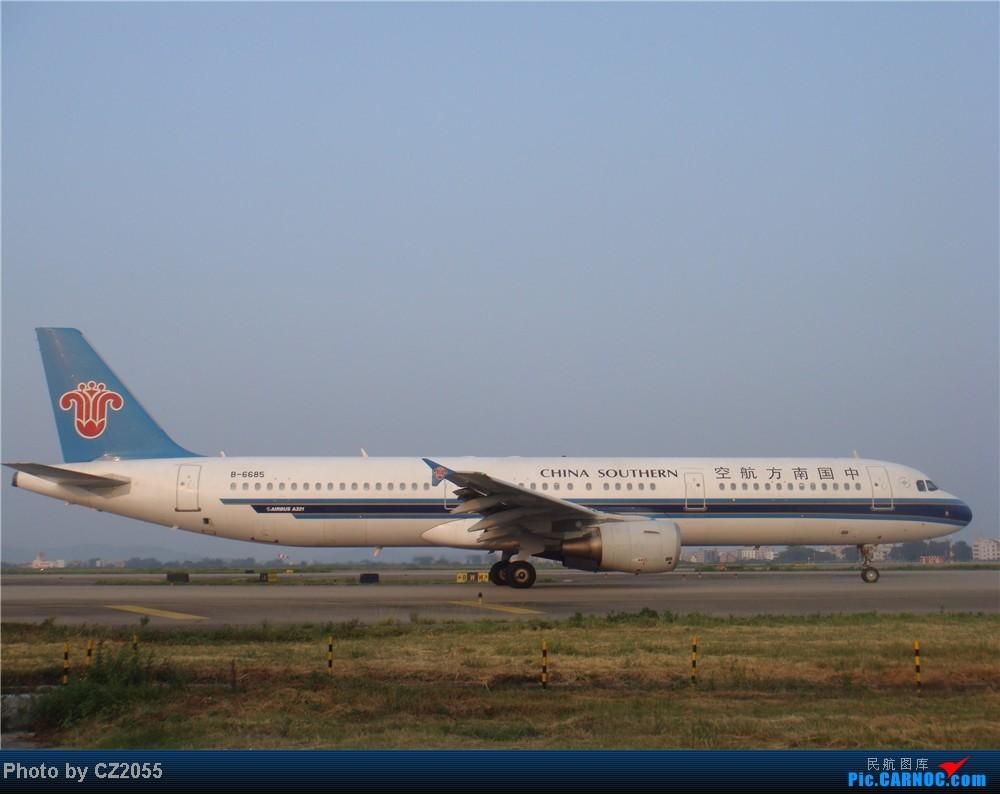 Re:[原创]2104.10.02白云机场02R围栏拍机 AIRBUS A321-200 B-6685 中国广州白云机场