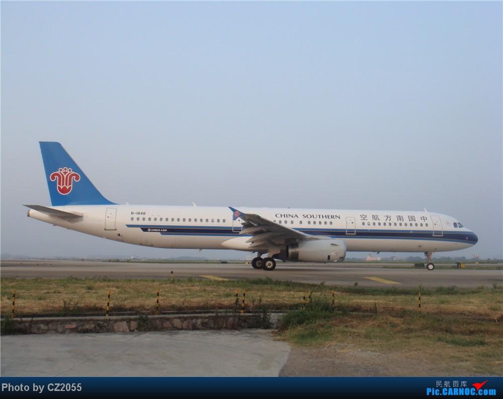 Re:[原创]2104.10.02白云机场02R围栏拍机 AIRBUS A321-200 B-1848 中国广州白云机场