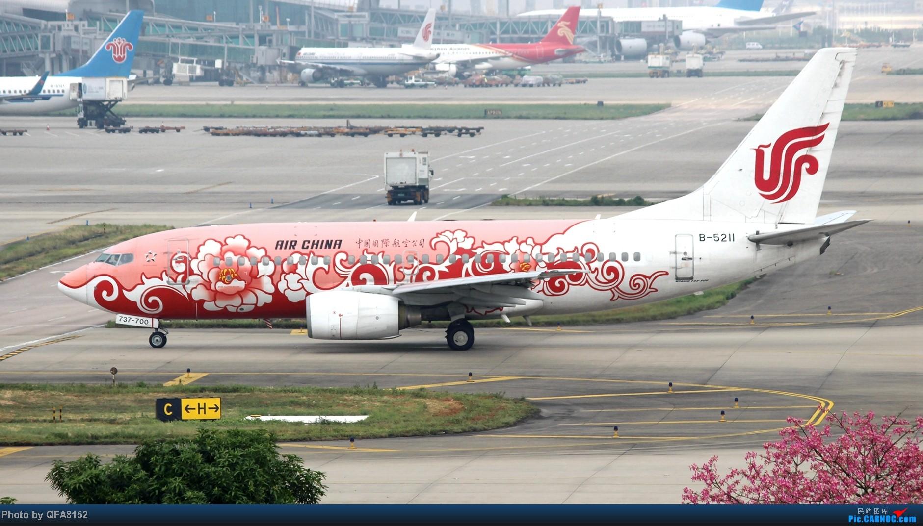 Re:[原创]2104.10.02白云机场02R围栏拍机 BOEING 737-700 B-5211 中国广州白云机场