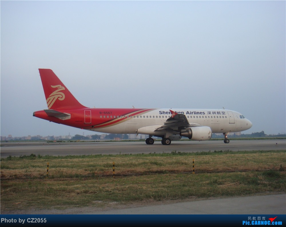 Re:[原创]2104.10.02白云机场02R围栏拍机 AIRBUS A320-200 B-6567 中国广州白云机场