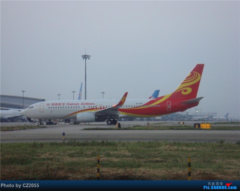 Re:[原创]2104.10.02白云机场02R围栏拍机 BOEING 737-800 B-1992 中国广州白云机场