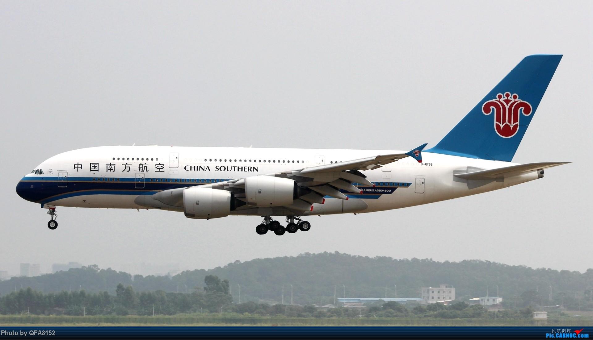 Re:[原创]2014.10.2广州白云消防塔拍机 AIRBUS A380 B-6136 中国广州白云机场