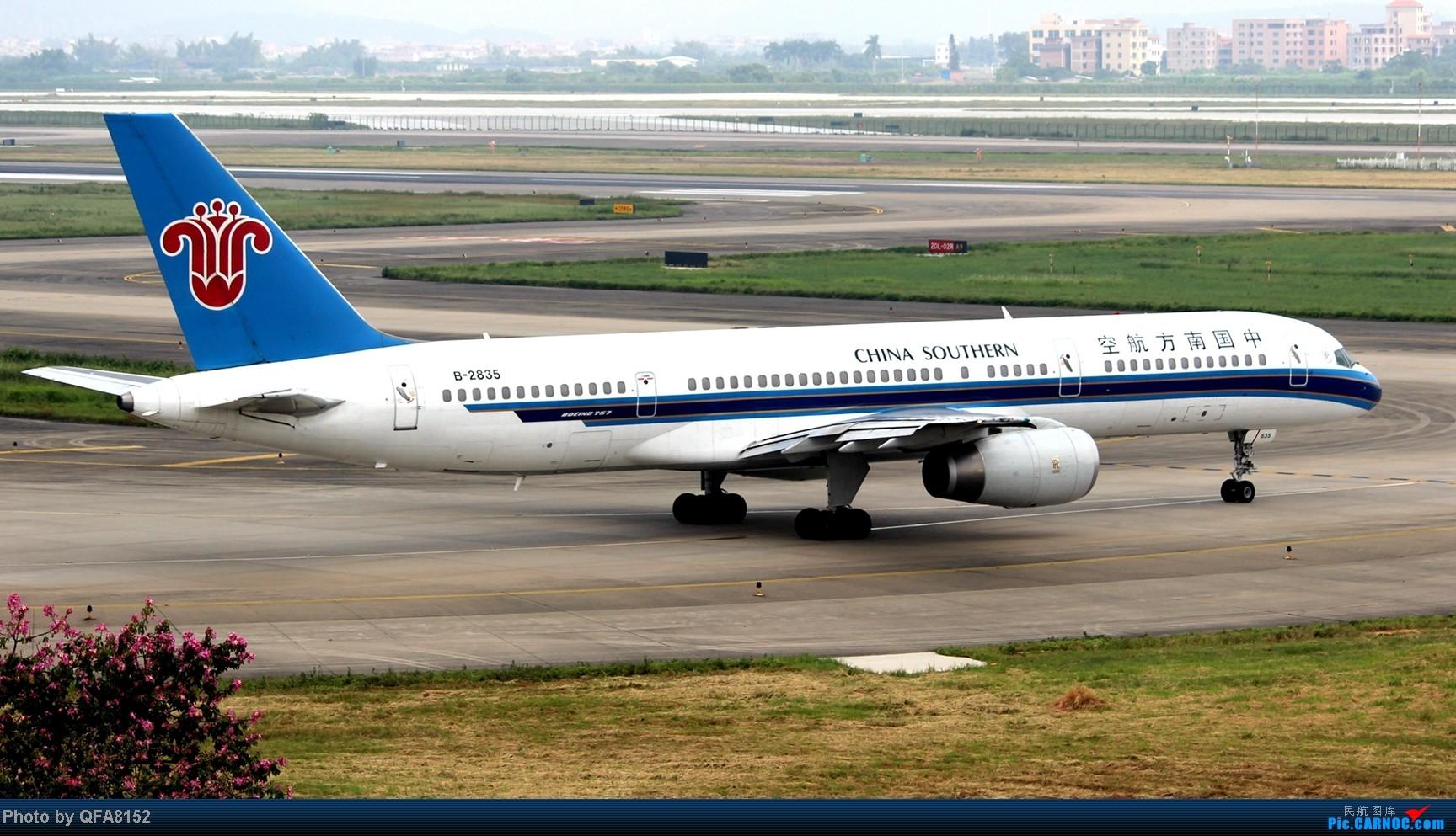 Re:[原创]2014.10.2广州白云消防塔拍机 BOEING 757-200 B-2835 中国广州白云机场