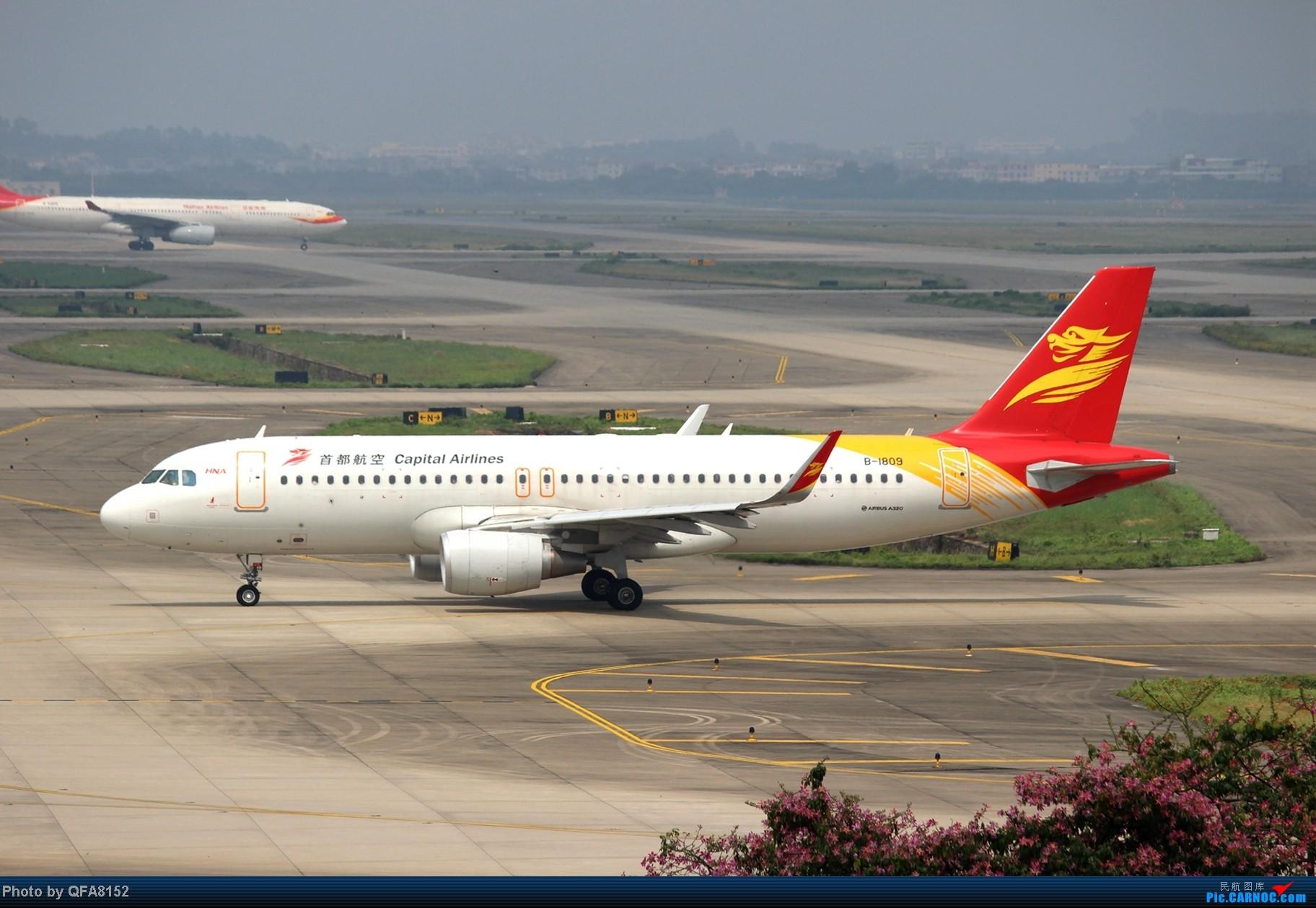 Re:[原创]2014.10.2广州白云消防塔拍机 AIRBUS A320-200 B-1809 中国广州白云机场