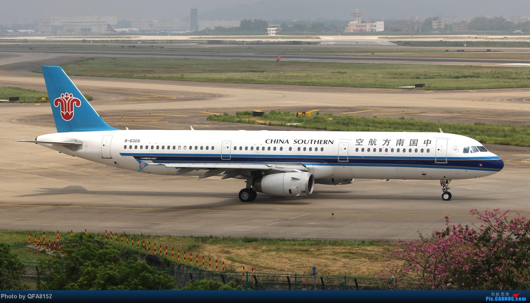 Re:[原创]2014.10.2广州白云消防塔拍机 AIRBUS A321-200 B-6305 中国广州白云机场