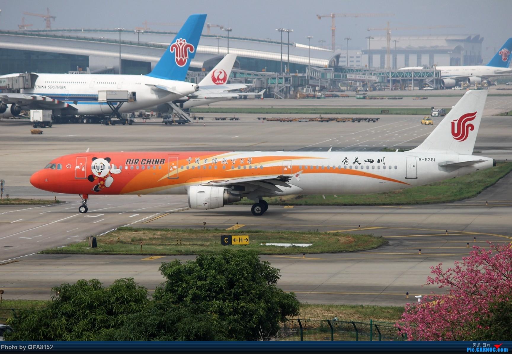 Re:[原创]2014.10.2广州白云消防塔拍机 AIRBUS A321-200 B-6361 中国广州白云机场