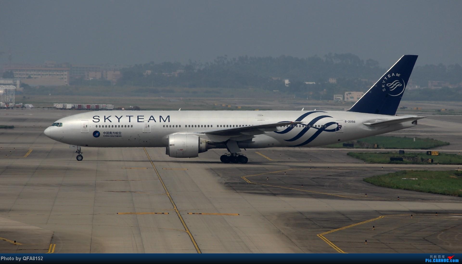 Re:[原创]2014.10.2广州白云消防塔拍机 BOEING 777-200 B-2056 中国广州白云机场