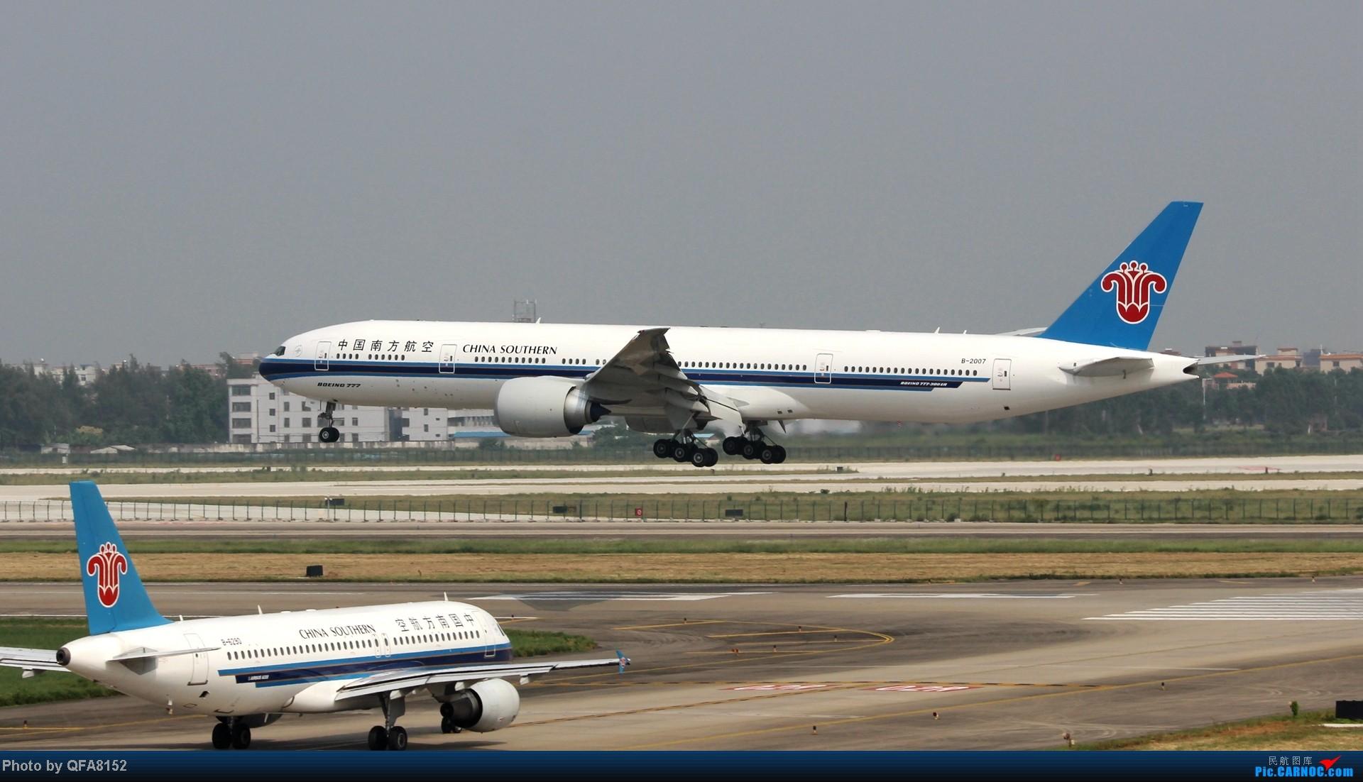 Re:[原创]2014.10.2广州白云消防塔拍机 BOEING 777-300ER B-2007 中国广州白云机场