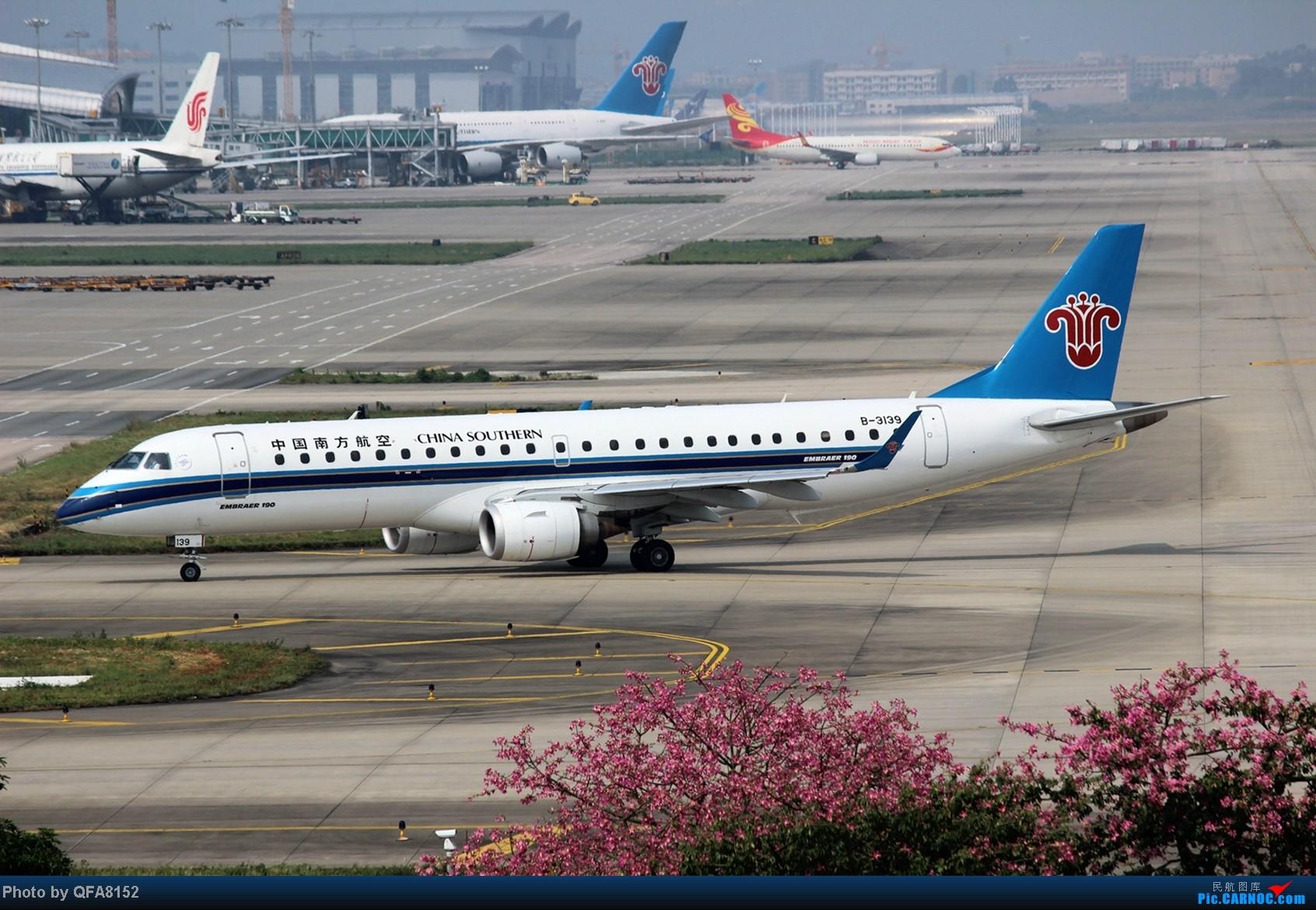 Re:[原创]2014.10.2广州白云消防塔拍机 EMBRAER E-190 B-3139 中国广州白云机场