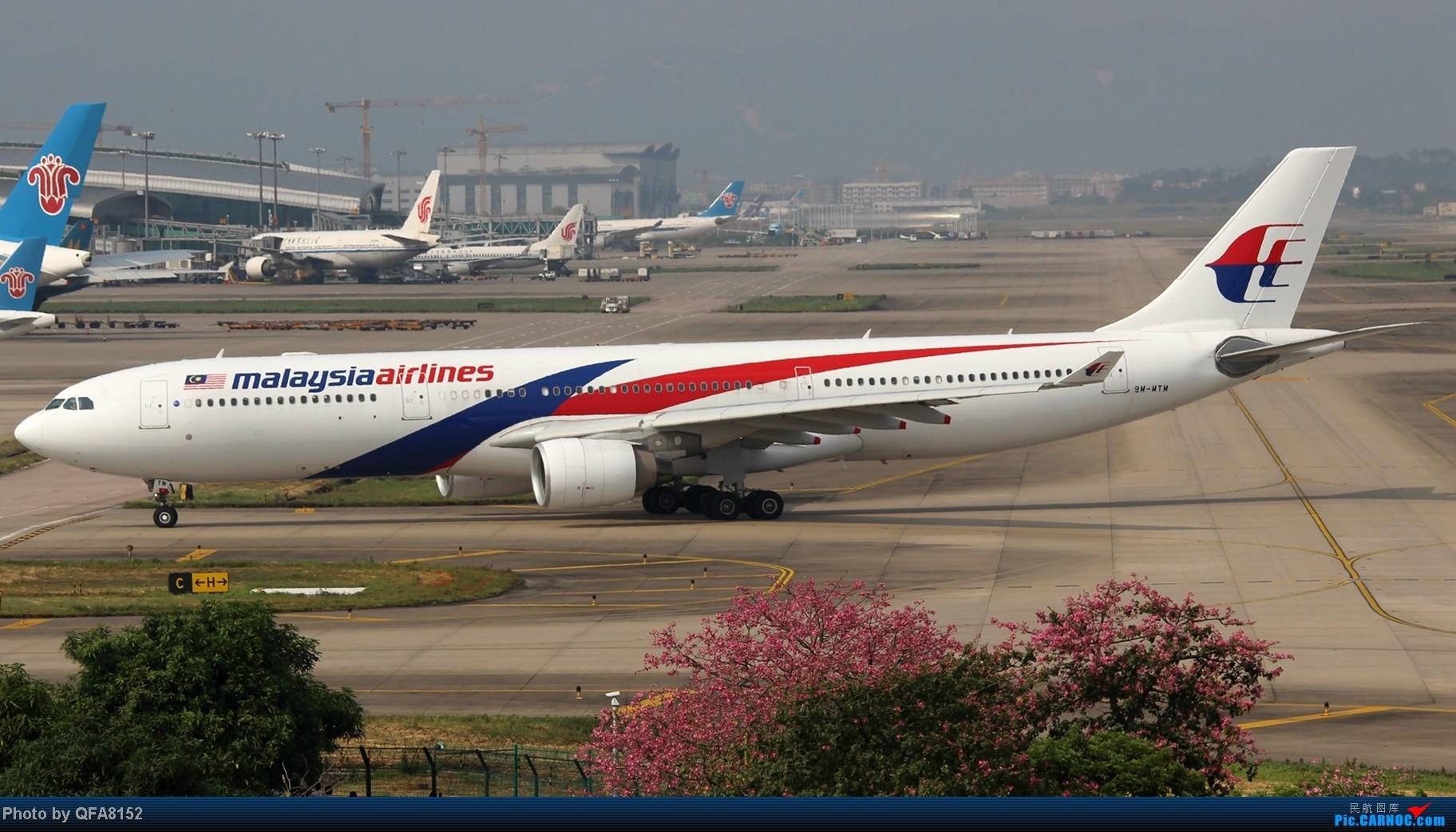 Re:[原创]2014.10.2广州白云消防塔拍机 AIRBUS A330-300 9M-MTM