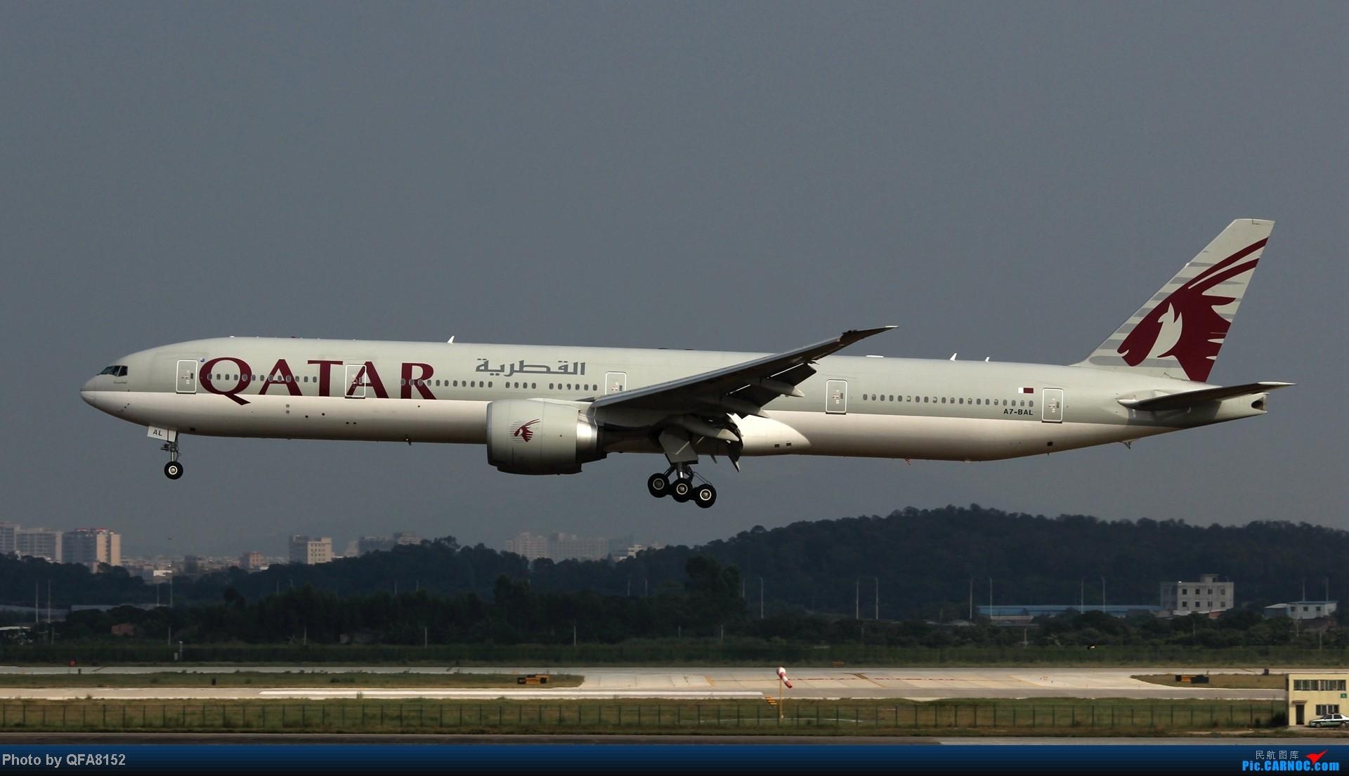Re:[原创]2014.10.2广州白云消防塔拍机 BOEING 777-300ER A7-BAL 中国广州白云机场