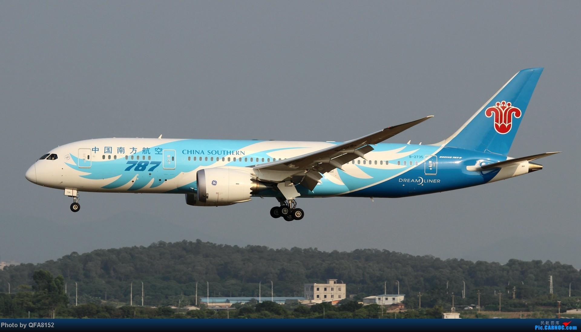 Re:[原创]2014.10.2广州白云消防塔拍机 BOEING 787-8 B-2735 中国广州白云机场