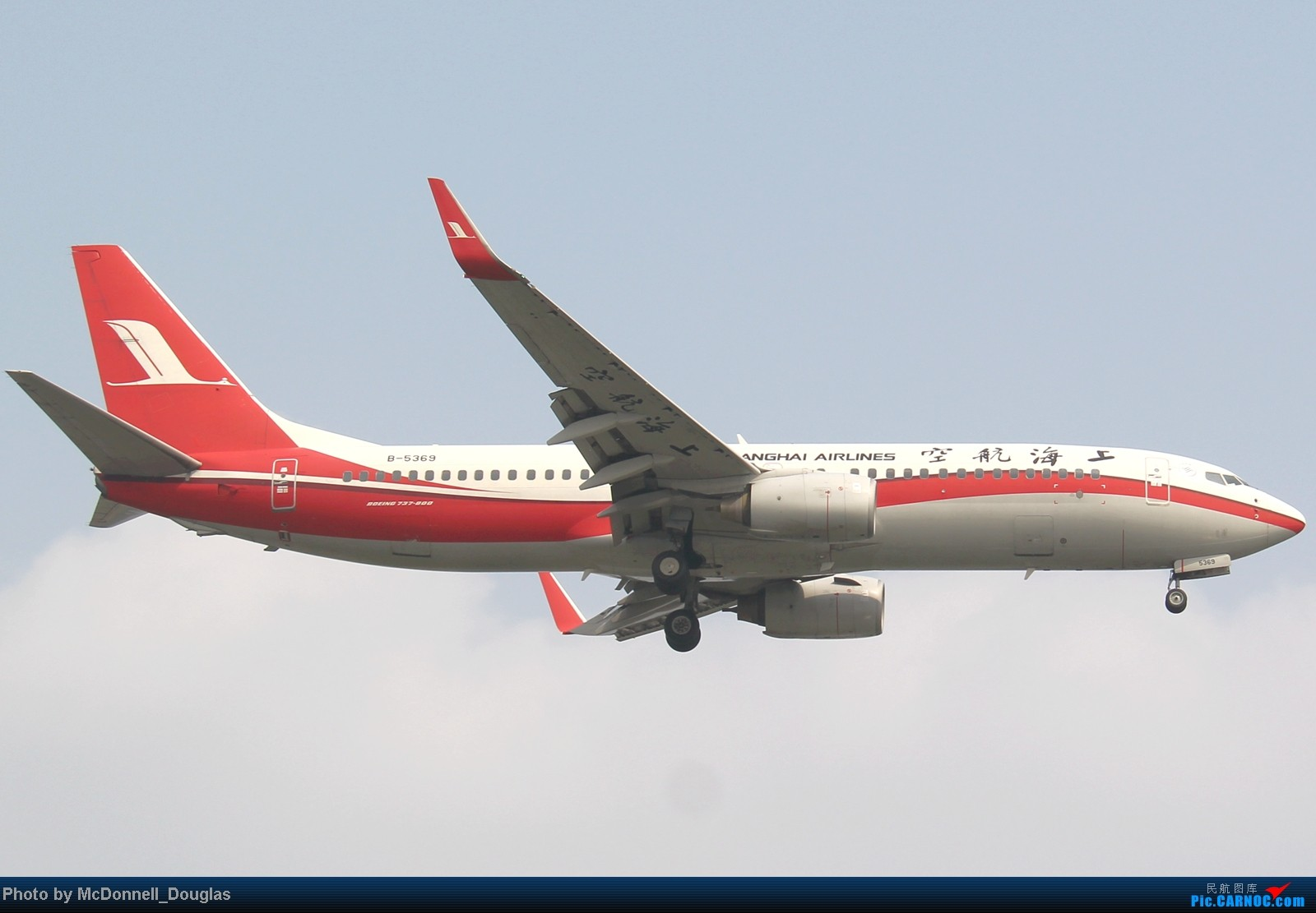 Re:[原创]【上海飞友会】ZSSS杂图一组 BOEING 737-800 B-5369 中国上海虹桥机场