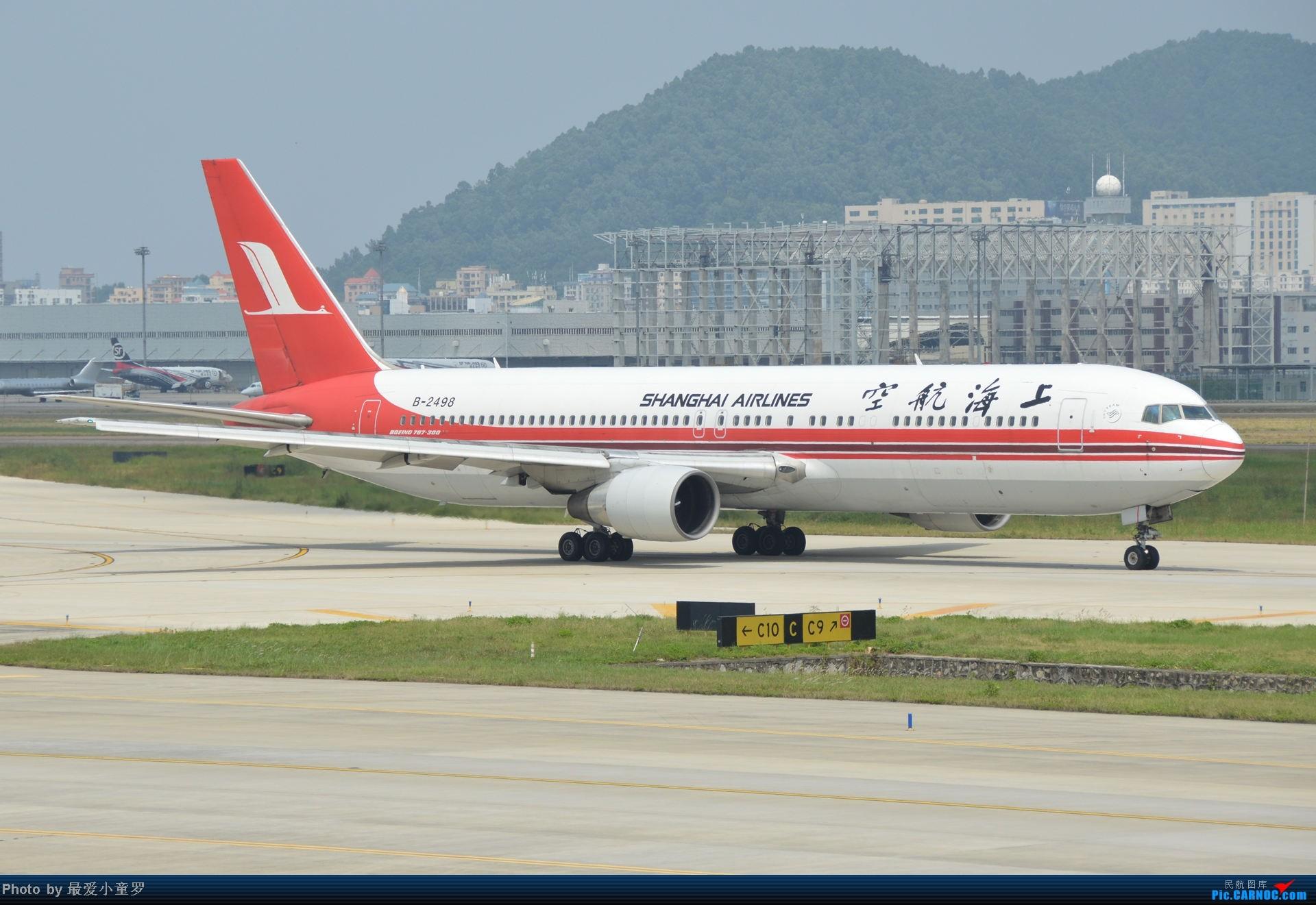 Re:[原创]2014年国庆假期深圳广州四天拍机,多图没怎么修 BOEING 767-300 B-2498