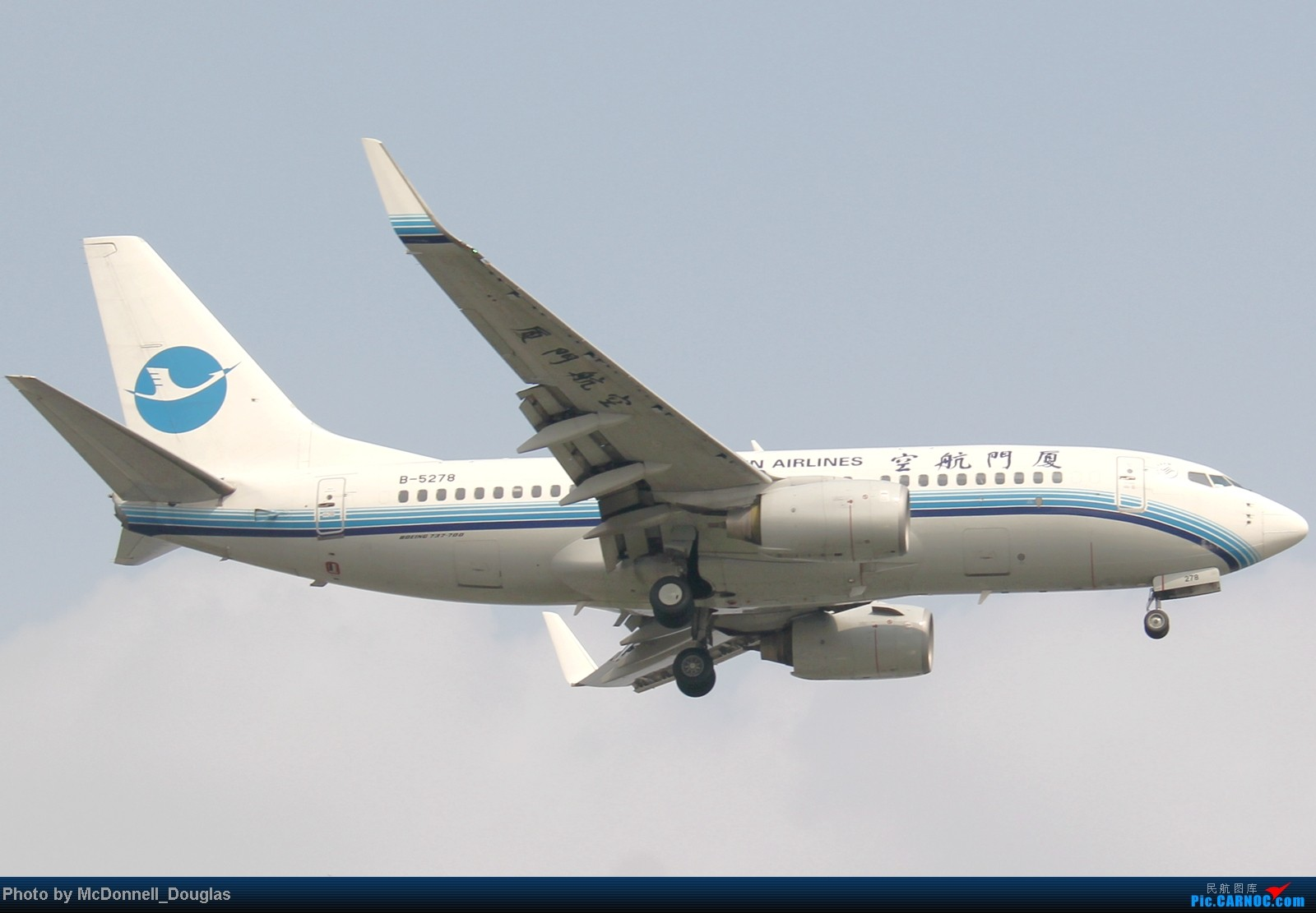 Re:[原创]【上海飞友会】ZSSS杂图一组 BOEING 737-700 B-5278 中国上海虹桥机场
