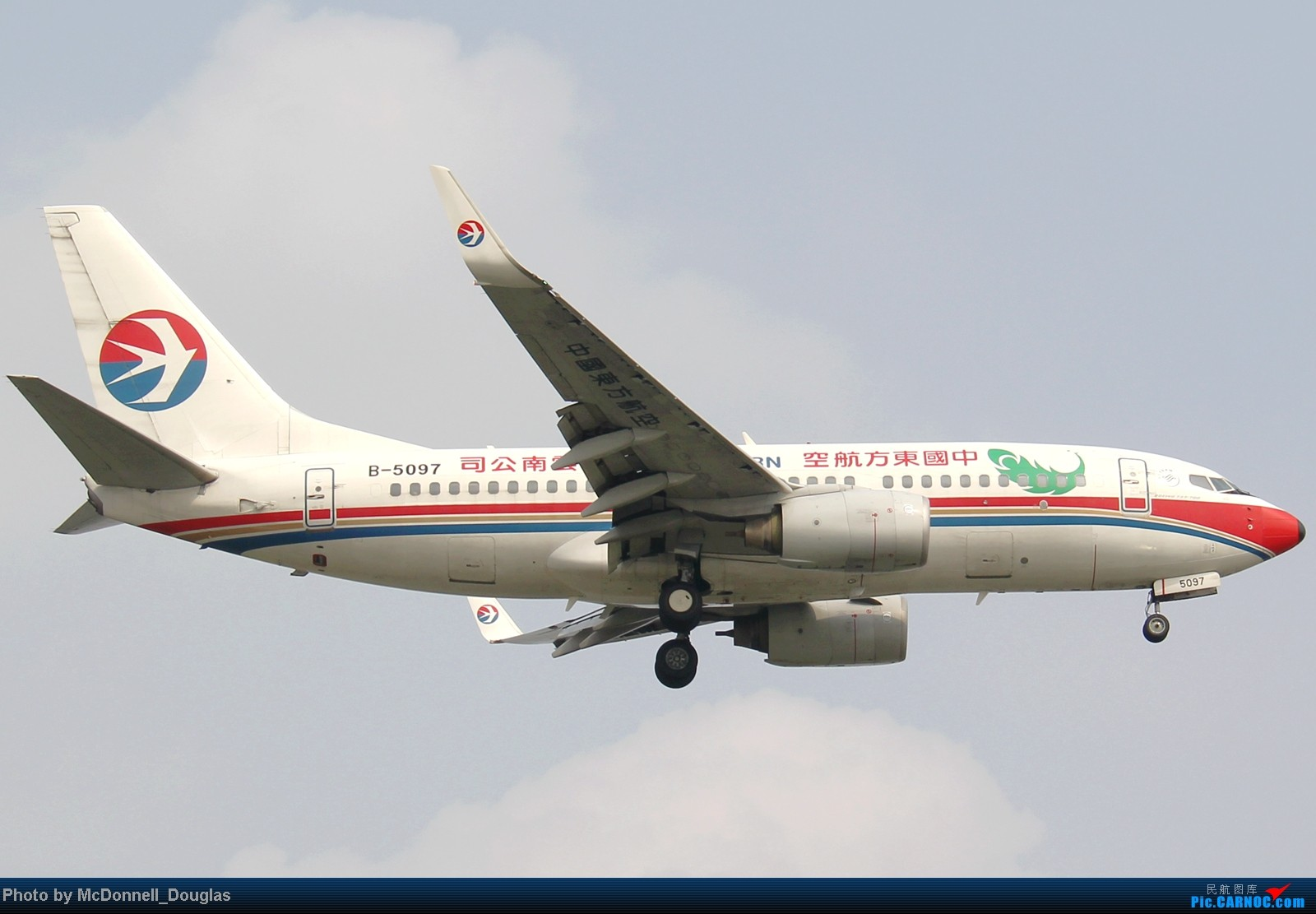 Re:[原创]【上海飞友会】ZSSS杂图一组 BOEING 737-700 B-5097 中国上海虹桥机场