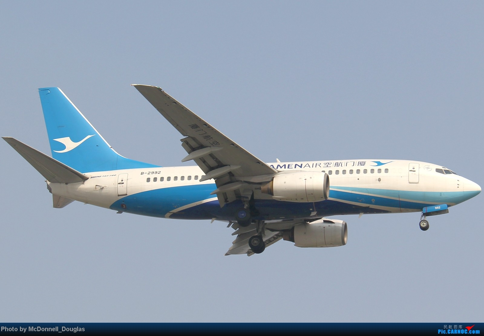 Re:[原创]【上海飞友会】ZSSS杂图一组 BOEING 737-700 B-2992 中国上海虹桥机场