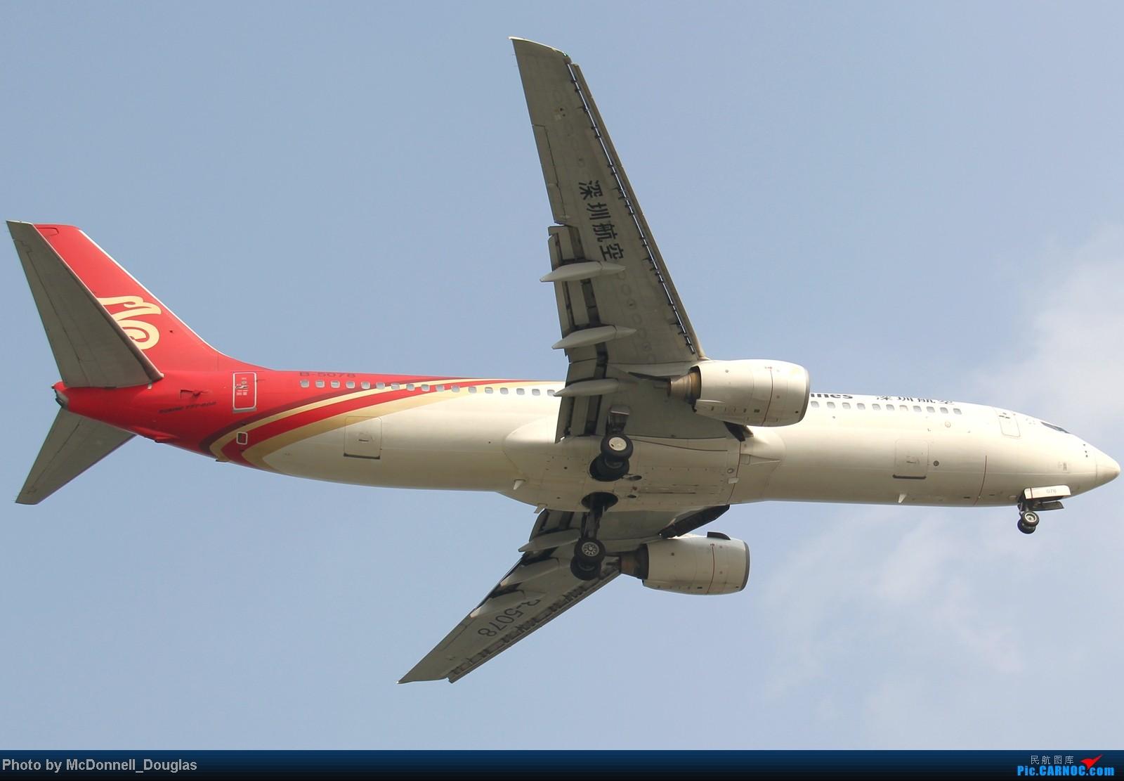 Re:[原创]【上海飞友会】ZSSS杂图一组 BOEING 737-800 B-5078 中国上海虹桥机场