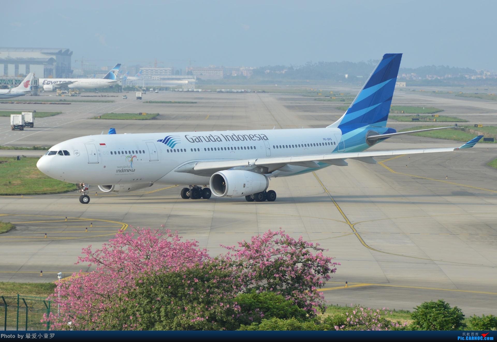 Re:[原创]2014年国庆假期深圳广州四天拍机,多图没怎么修 AIRBUS A330-200 PK-GPQ