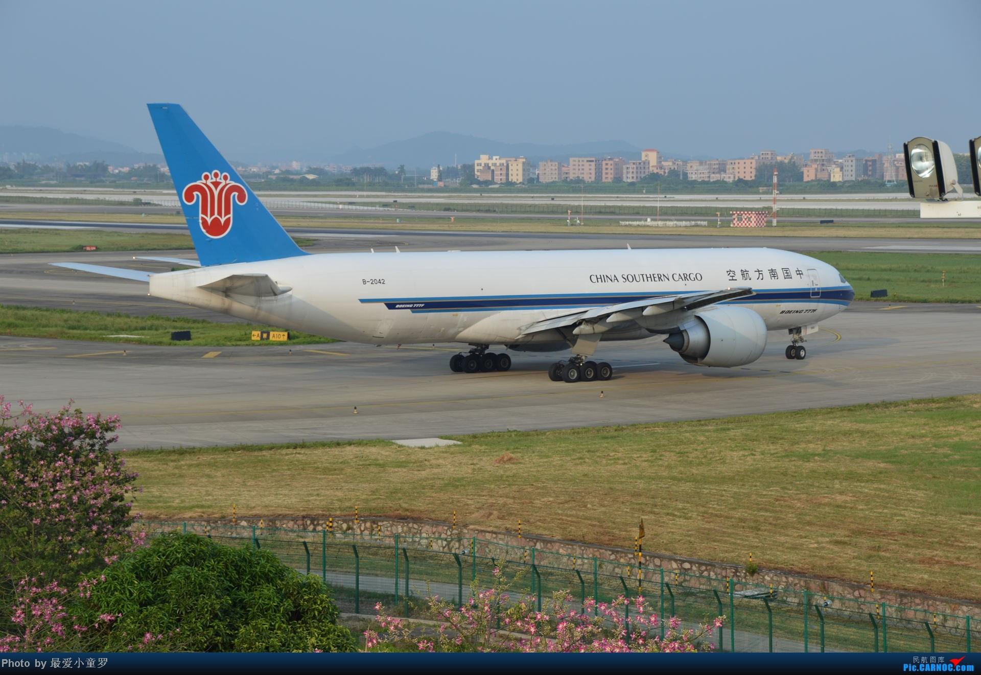 Re:[原创]2014年国庆假期深圳广州四天拍机,多图没怎么修 BOEING 777-200 B-2042 中国广州白云机场
