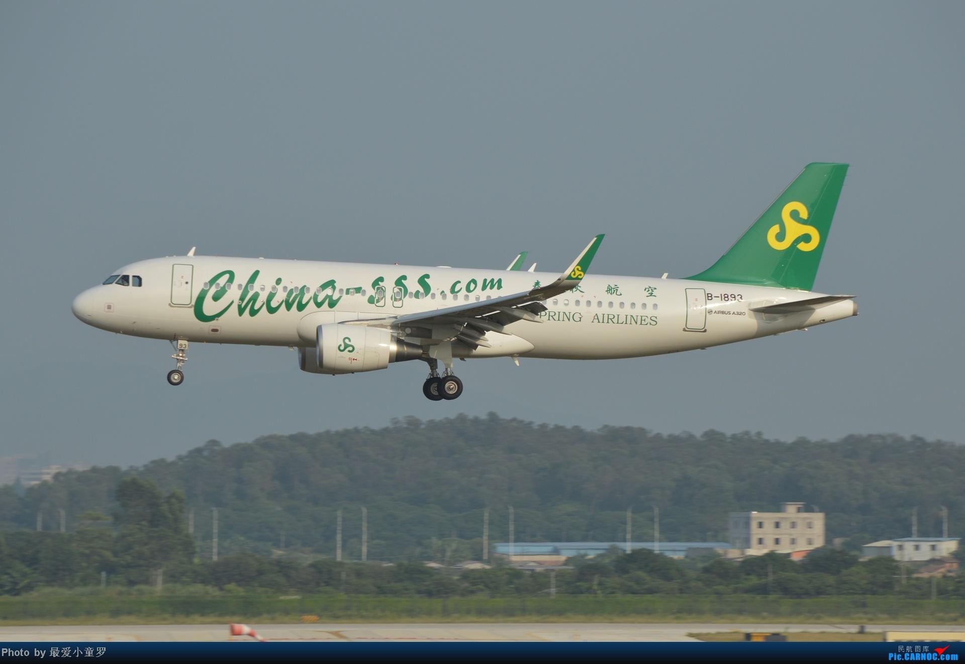 Re:[原创]2014年国庆假期深圳广州四天拍机,多图没怎么修 AIRBUS A320-200 B-1893 中国广州白云机场