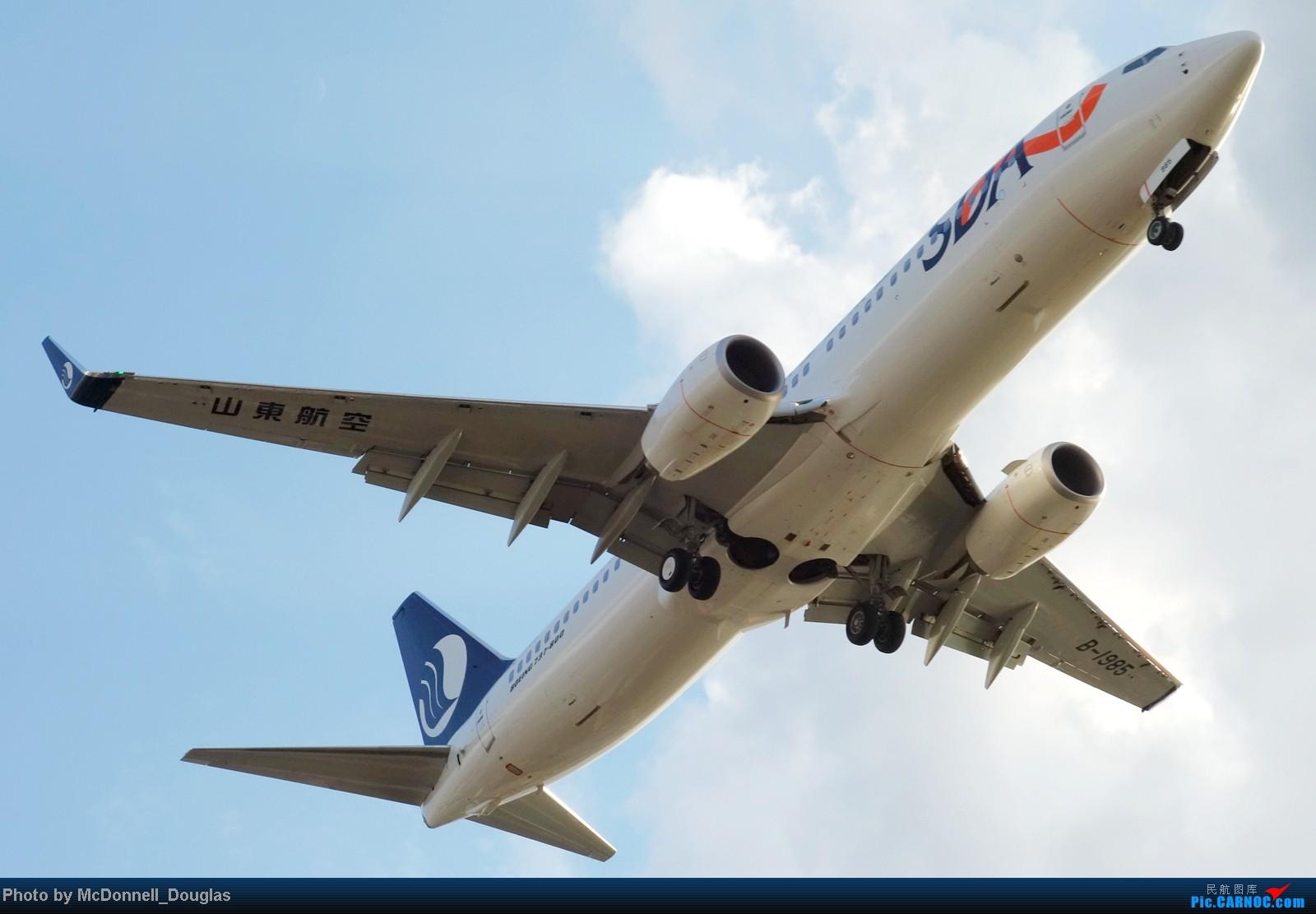 Re:[原创]【上海飞友会】ZSSS杂图一组 BOEING 737-800 B-1985 中国上海虹桥机场