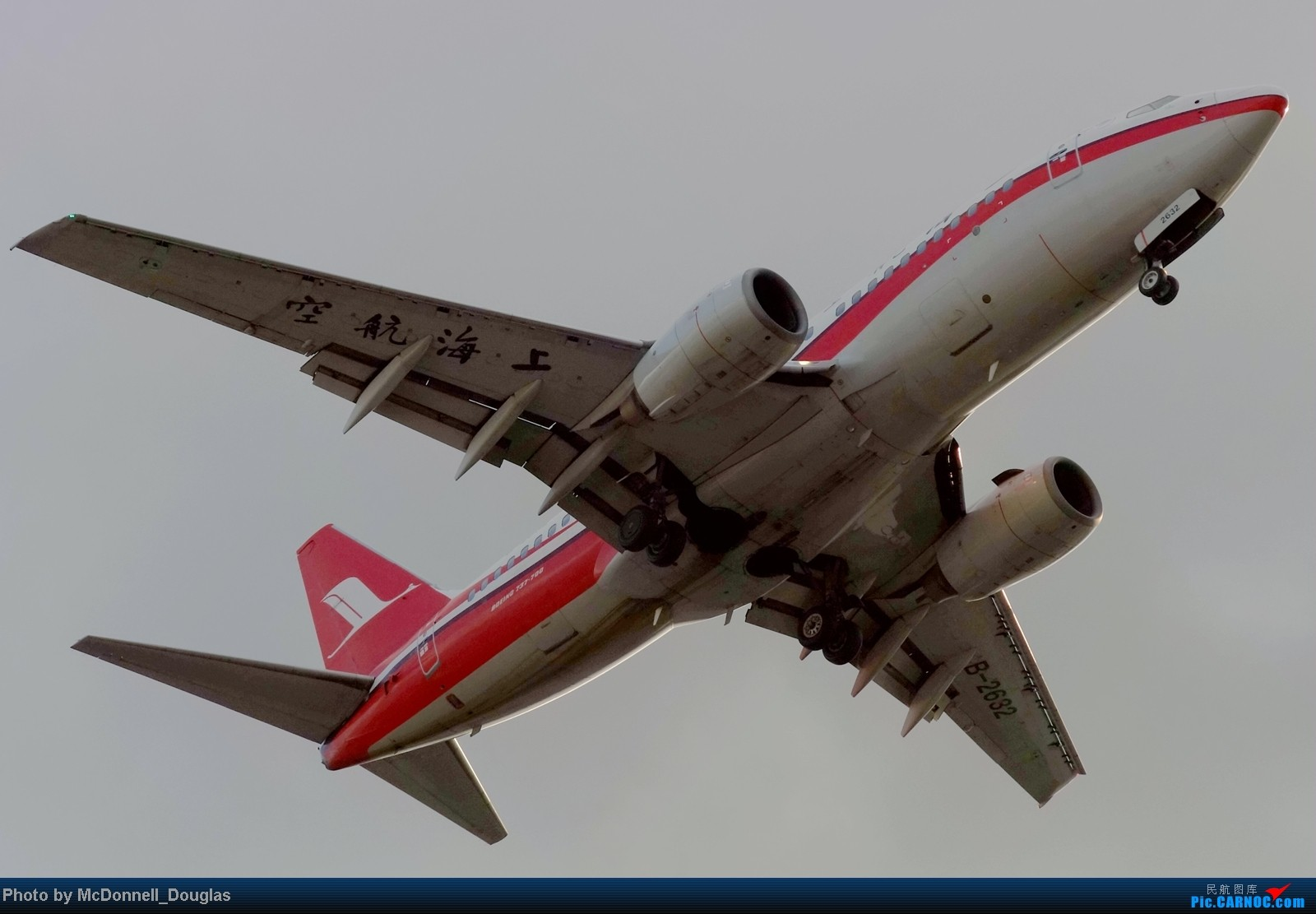 Re:[原创]【上海飞友会】ZSSS杂图一组 BOEING 737-700 B-2632 中国上海虹桥机场